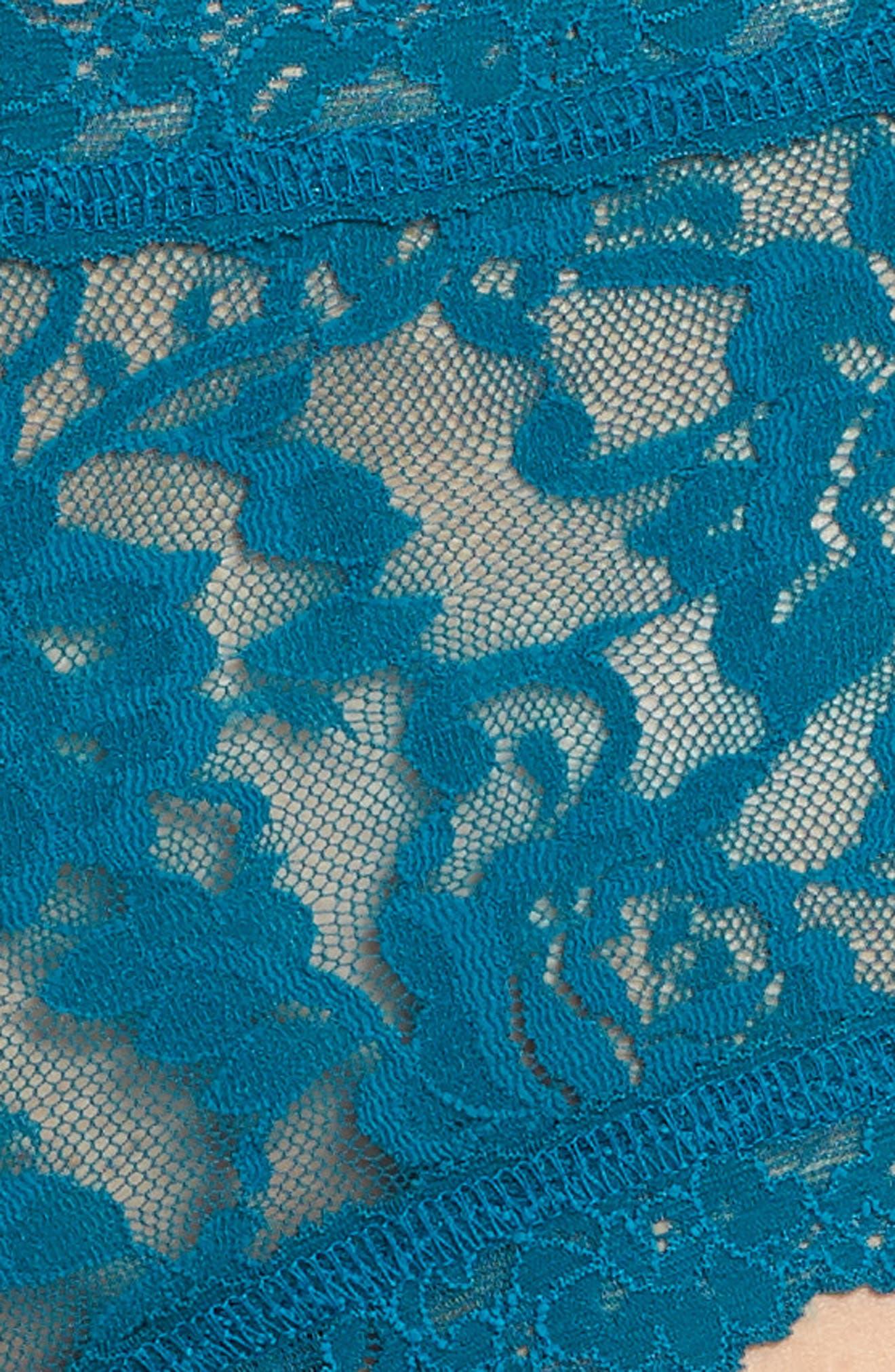 'Signature Lace' Boyshorts,                             Alternate thumbnail 429, color,