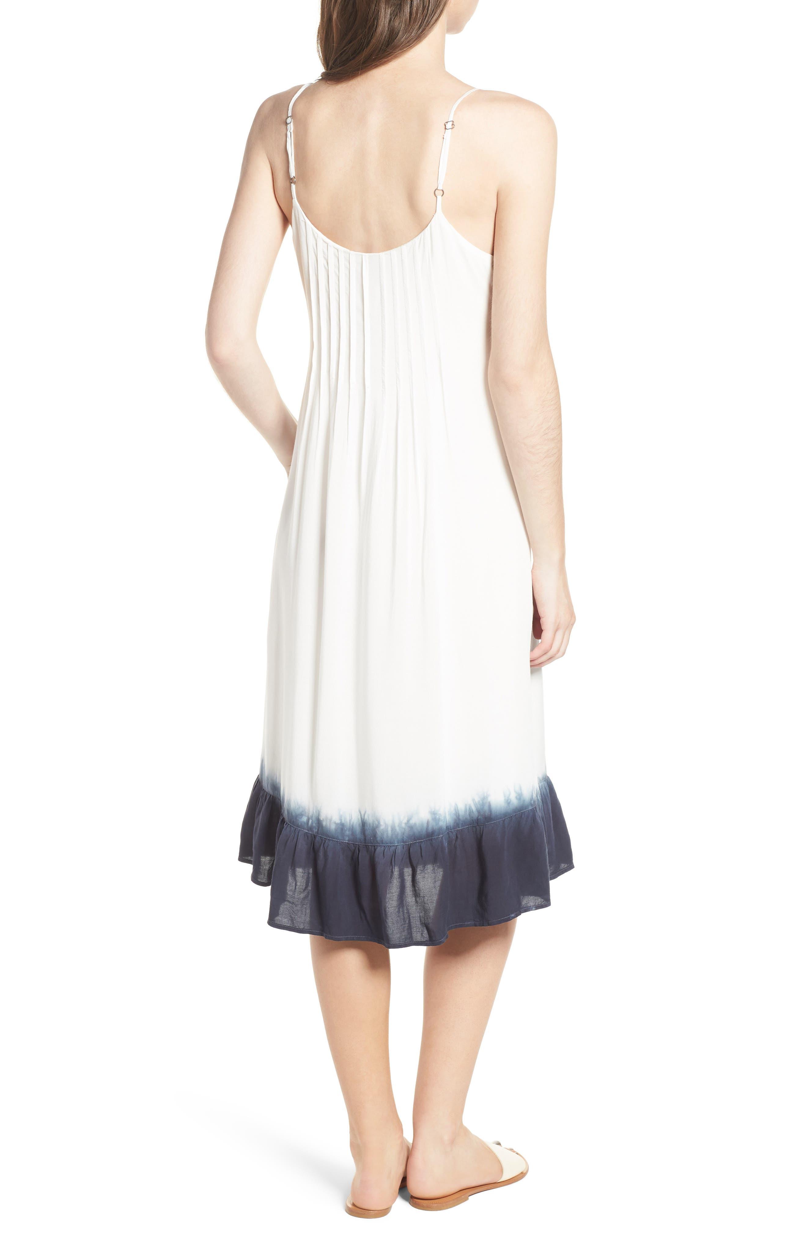 Tie Dye Ruffle Dress,                             Alternate thumbnail 2, color,                             114