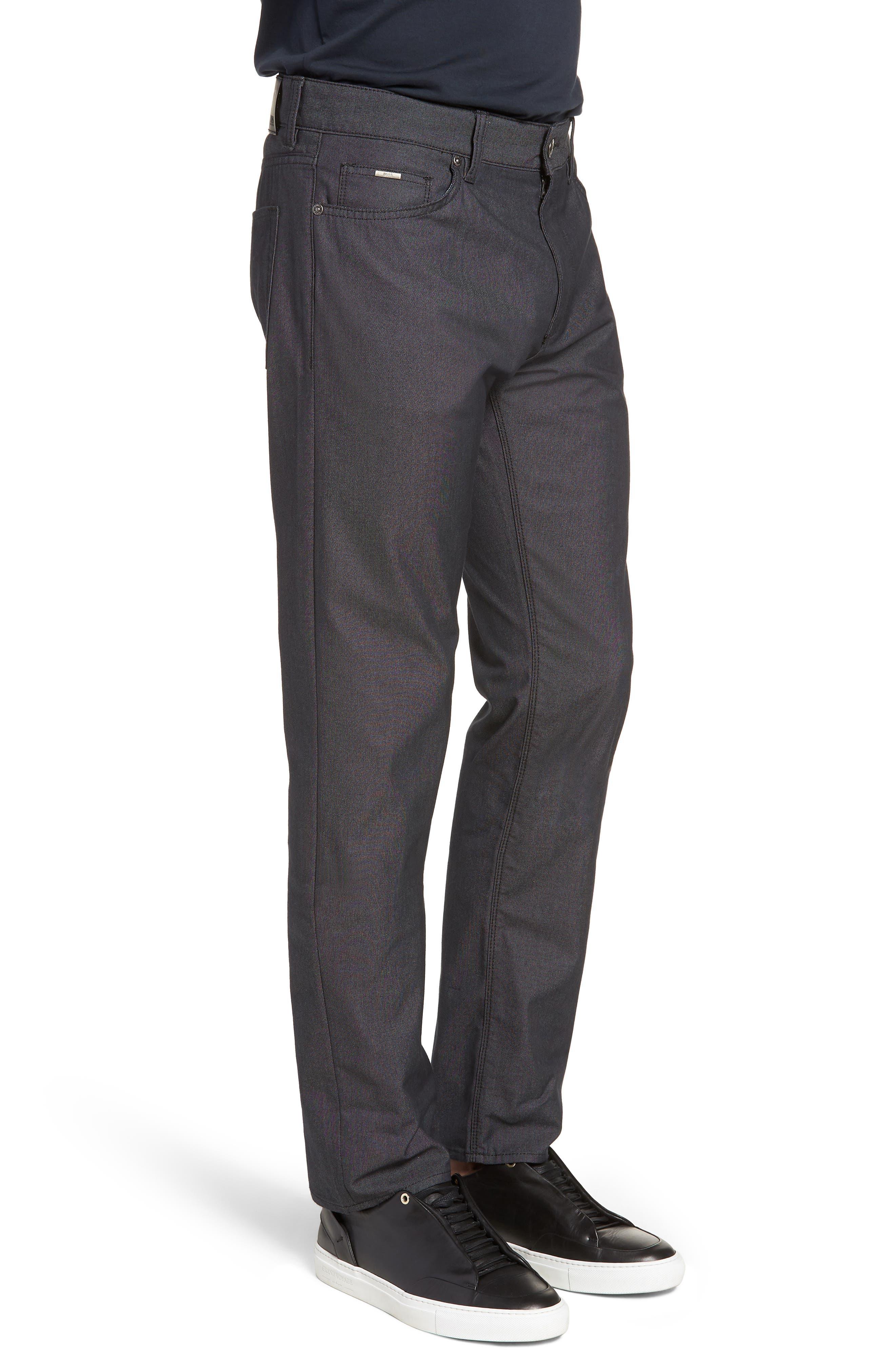 Maine Straight Leg Jeans,                             Alternate thumbnail 3, color,                             001