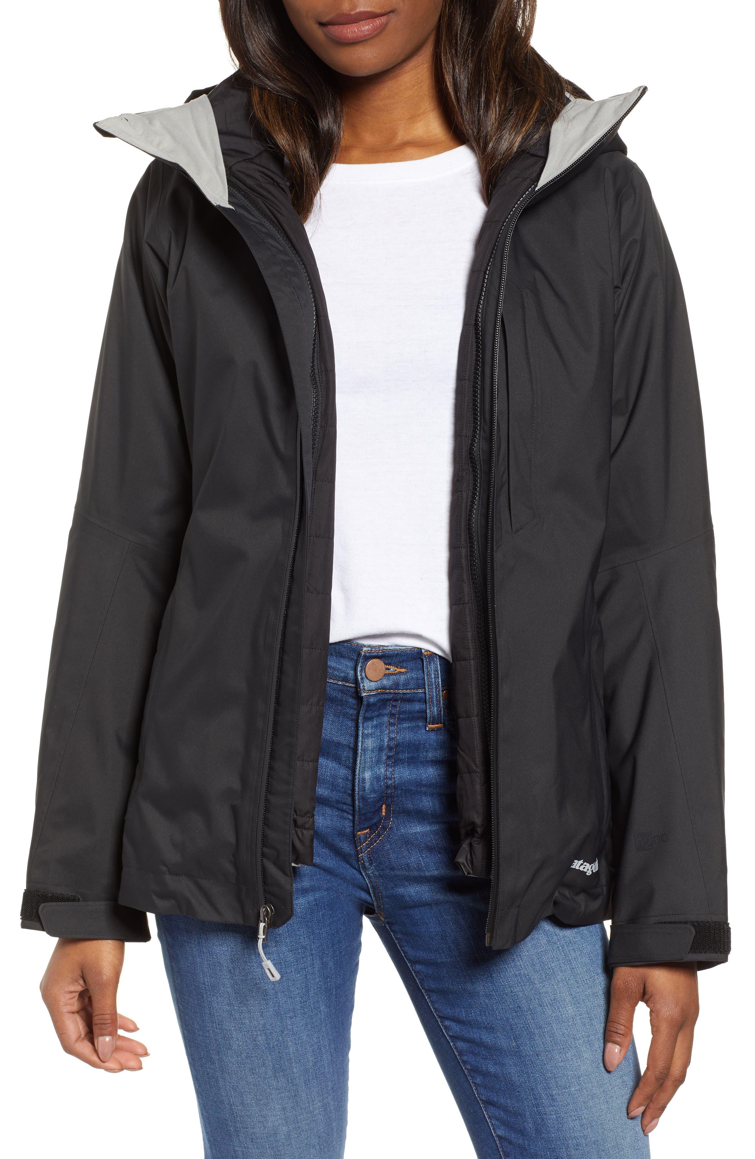 Snowbelle 3-in-1 Jacket,                             Main thumbnail 1, color,                             BLACK