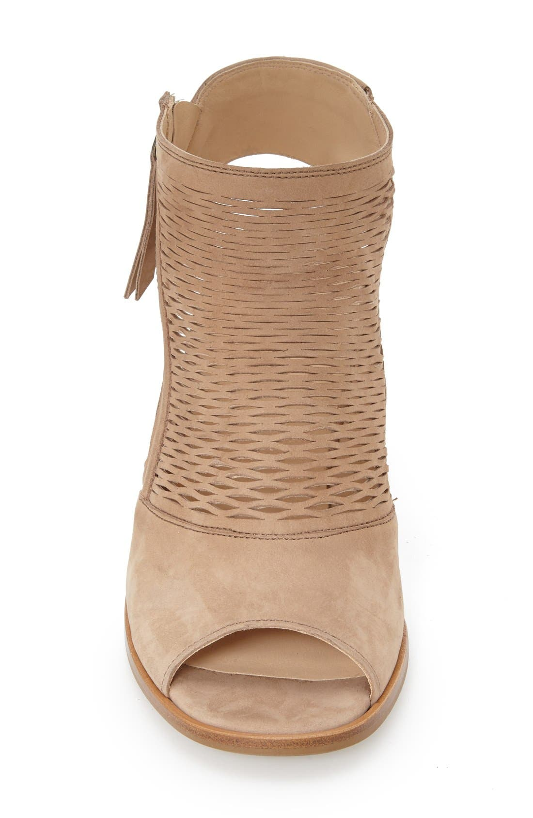 'Willow' Peep Toe Sandal,                             Alternate thumbnail 3, color,                             291