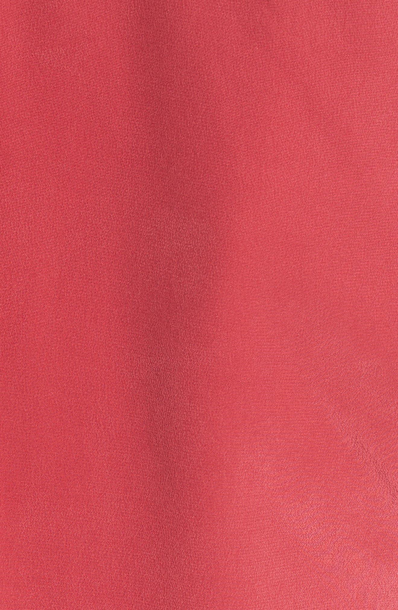 Alisha Tie Shoulder Silk Top,                             Alternate thumbnail 9, color,