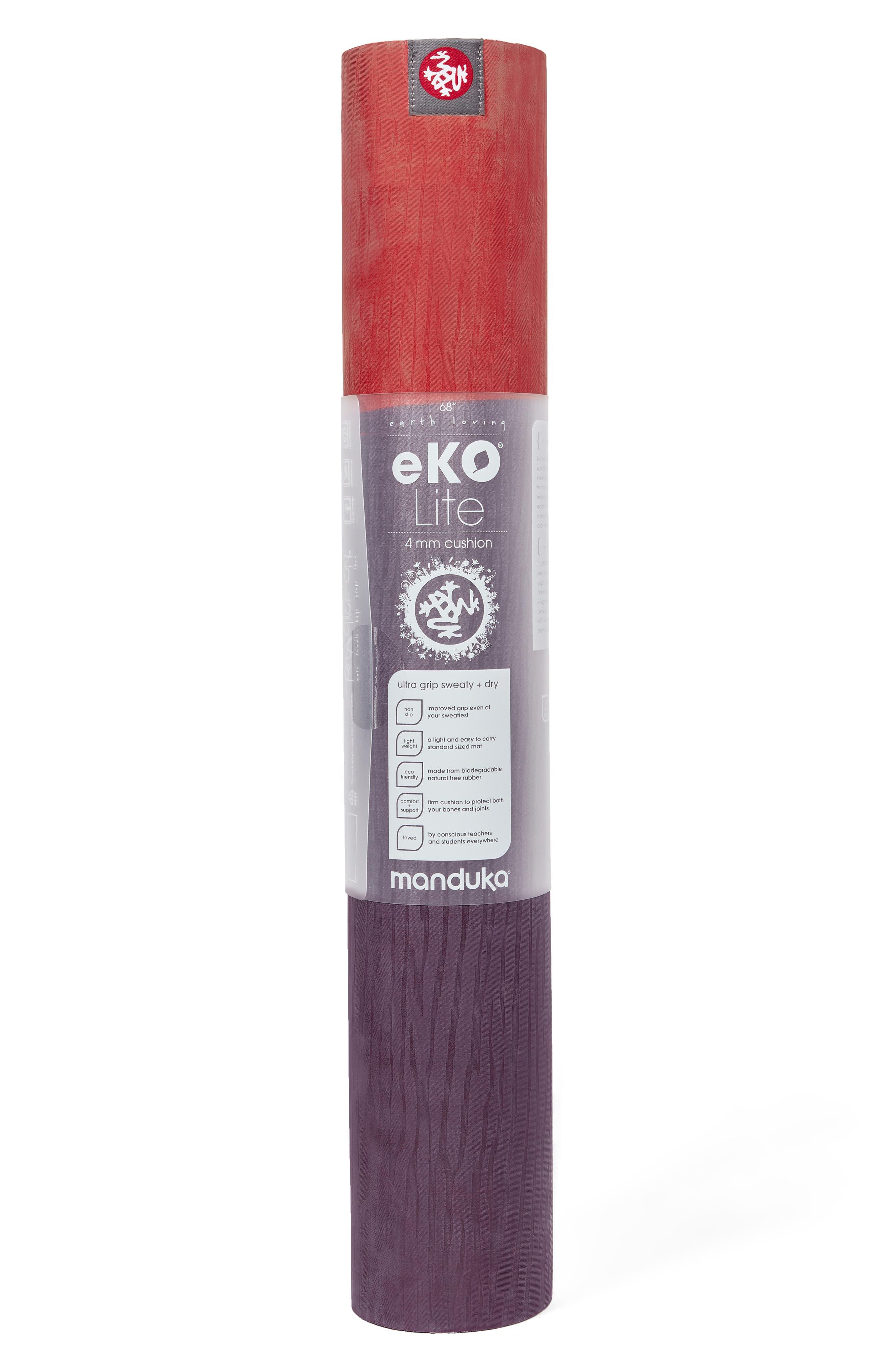 eKO<sup>®</sup> Lite 4mm Yoga Mat,                             Alternate thumbnail 2, color,                             KHANGAI