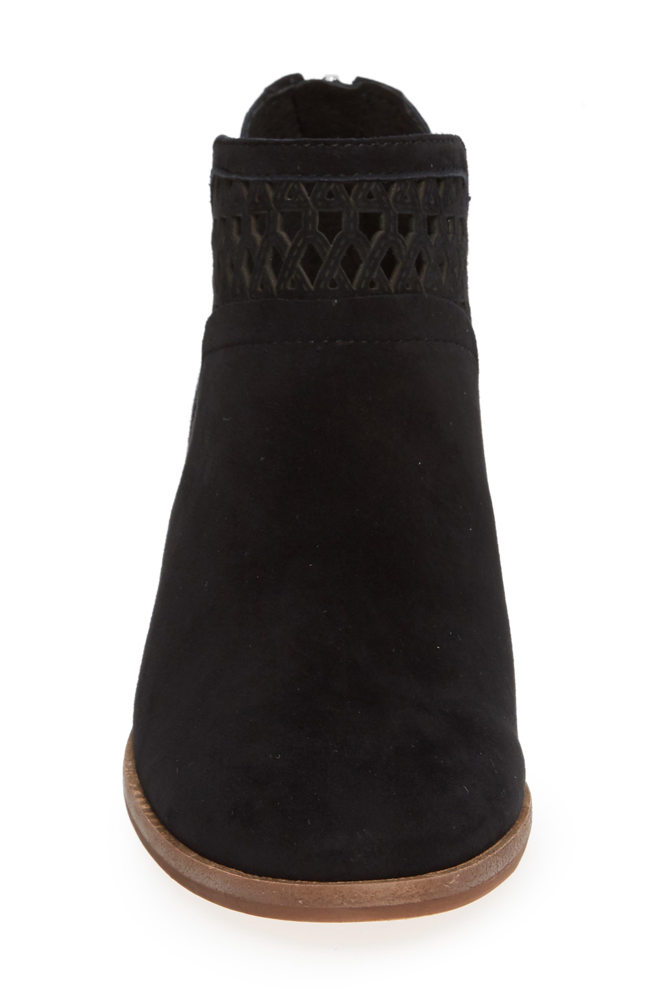 Perdula Boot,                             Alternate thumbnail 4, color,                             BLACK SUEDE