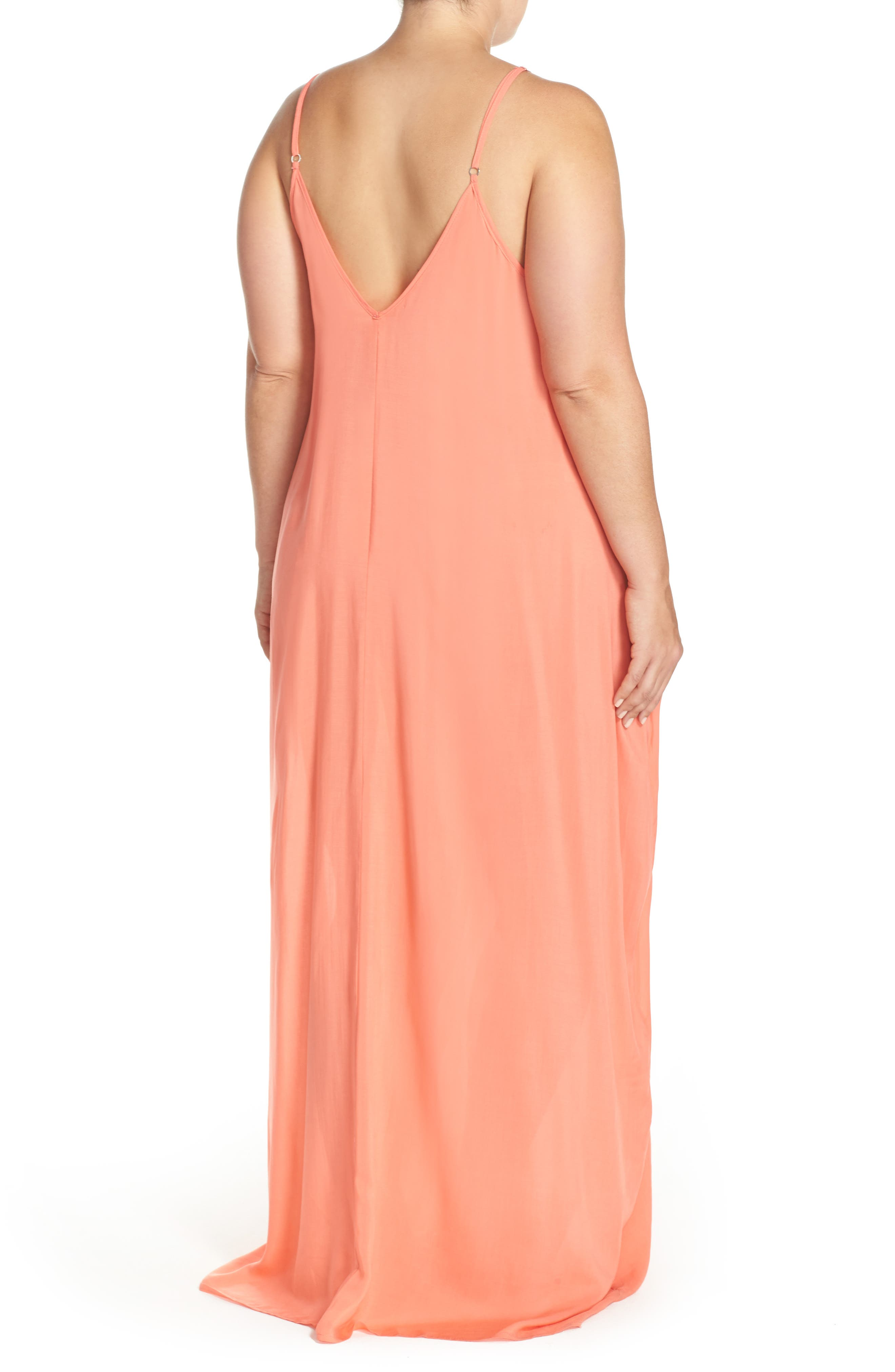 Cover-Up Maxi Dress,                             Alternate thumbnail 21, color,