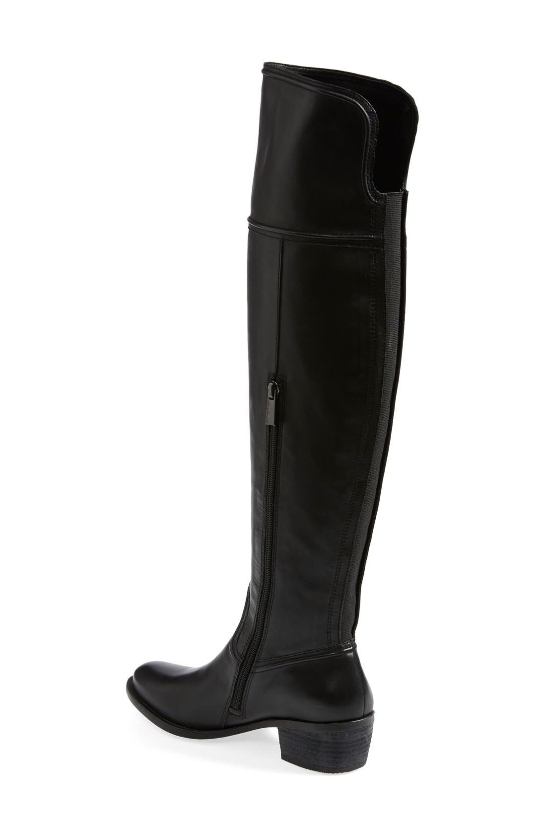 'Baldwin' Over the Knee Boot,                             Alternate thumbnail 6, color,                             001