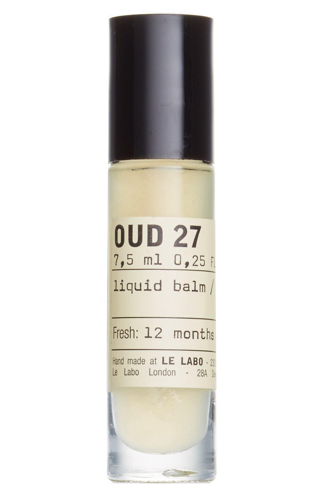 'Oud 27' Liquid Balm,                             Main thumbnail 1, color,                             NO COLOR