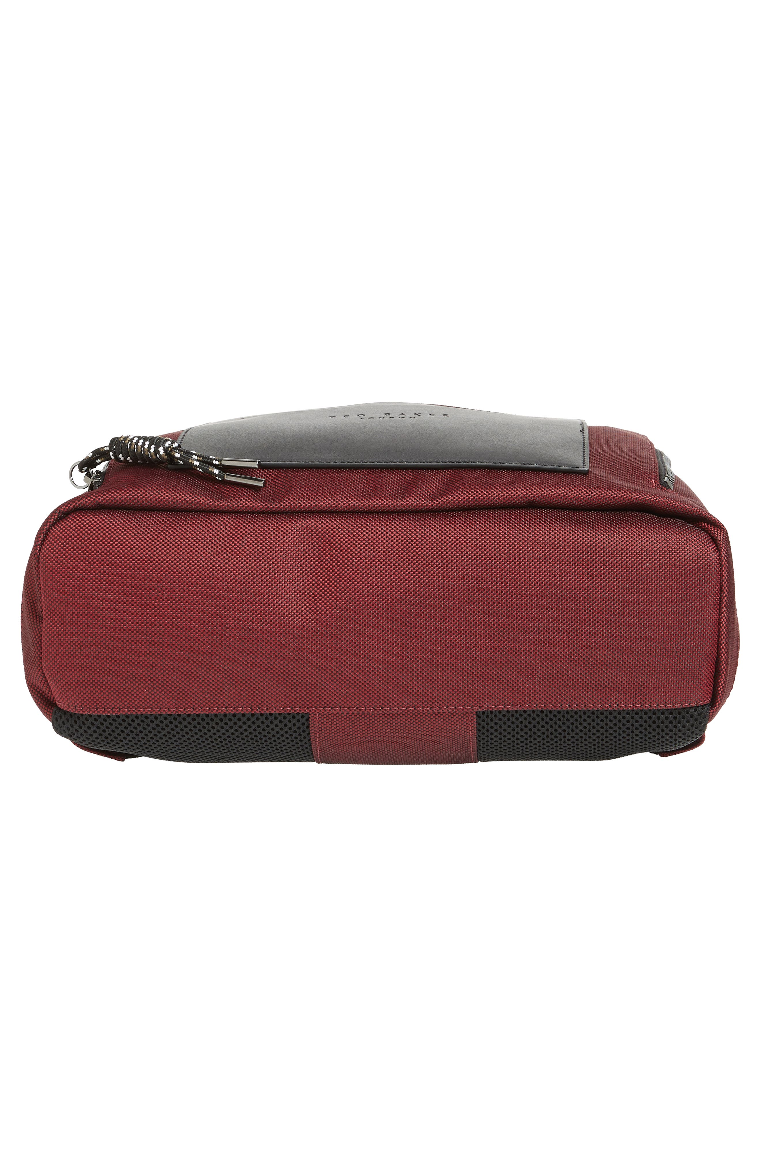 Filer Backpack,                             Alternate thumbnail 6, color,                             RED