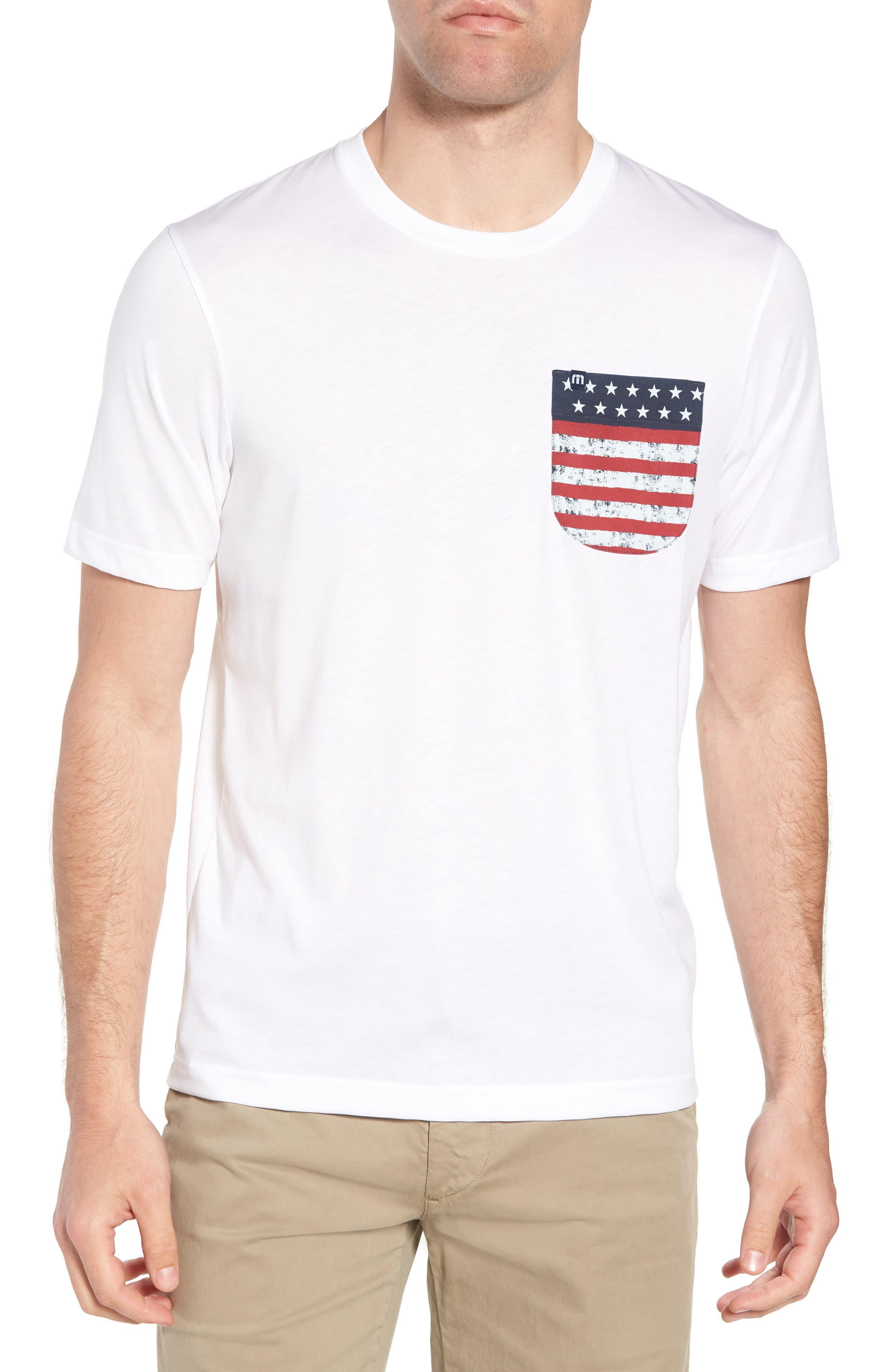Chocolate Barrels Crewneck T-Shirt,                         Main,                         color, WHITE