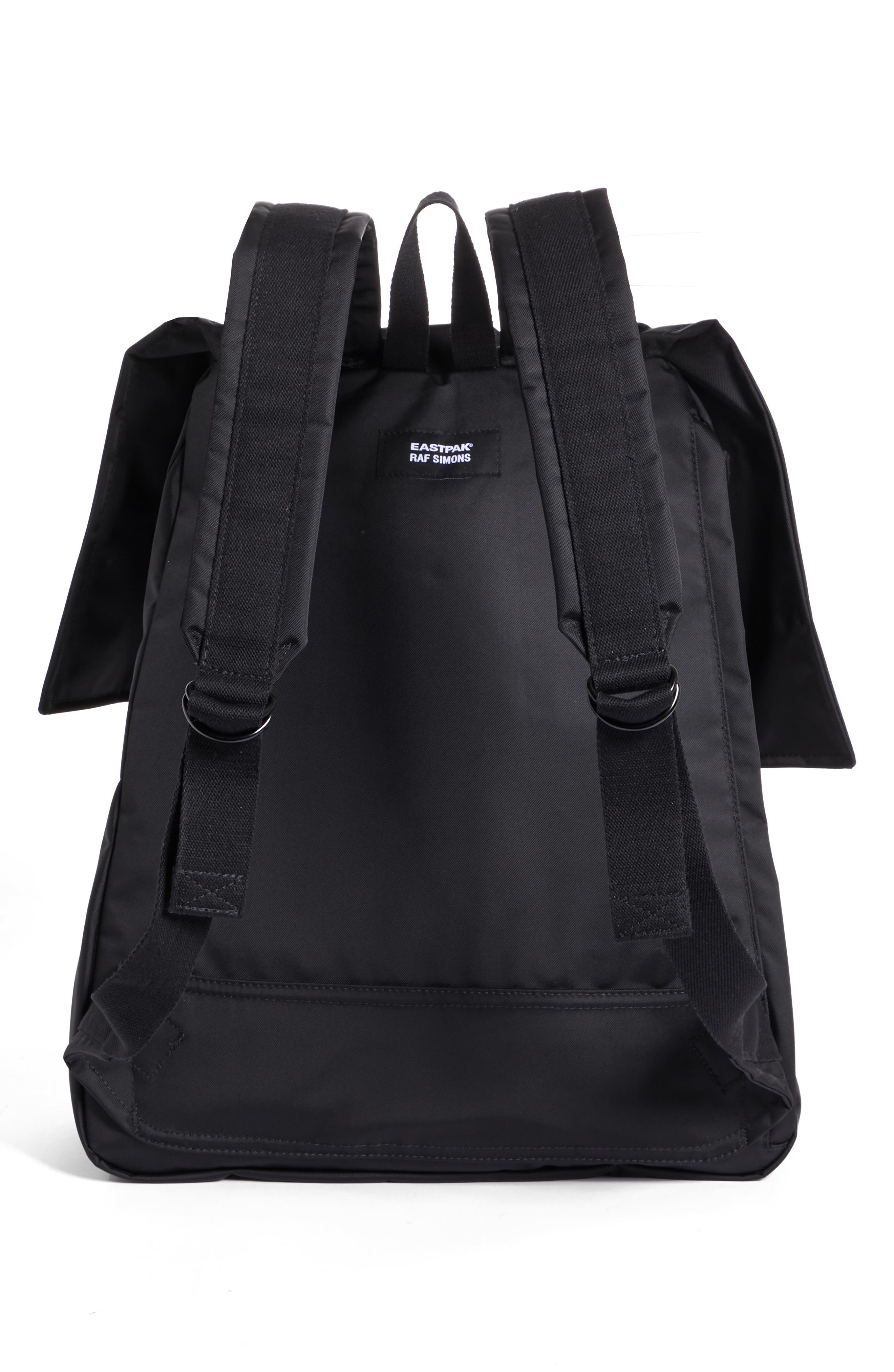 RAF SIMONS,                             Eastpak x Raf Simons Backpack,                             Alternate thumbnail 3, color,                             BLACK