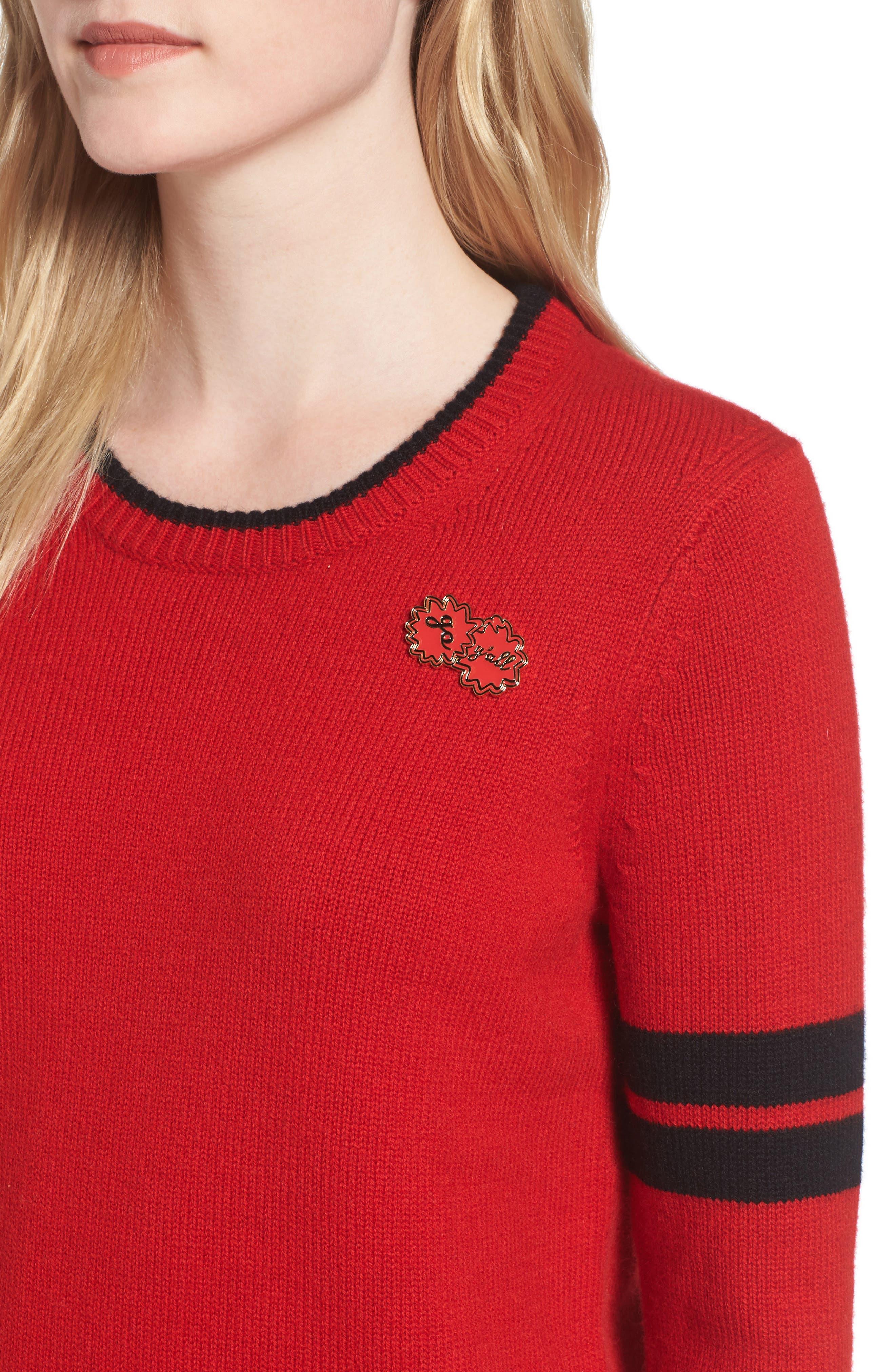 Spirit Sweater,                             Alternate thumbnail 4, color,                             006