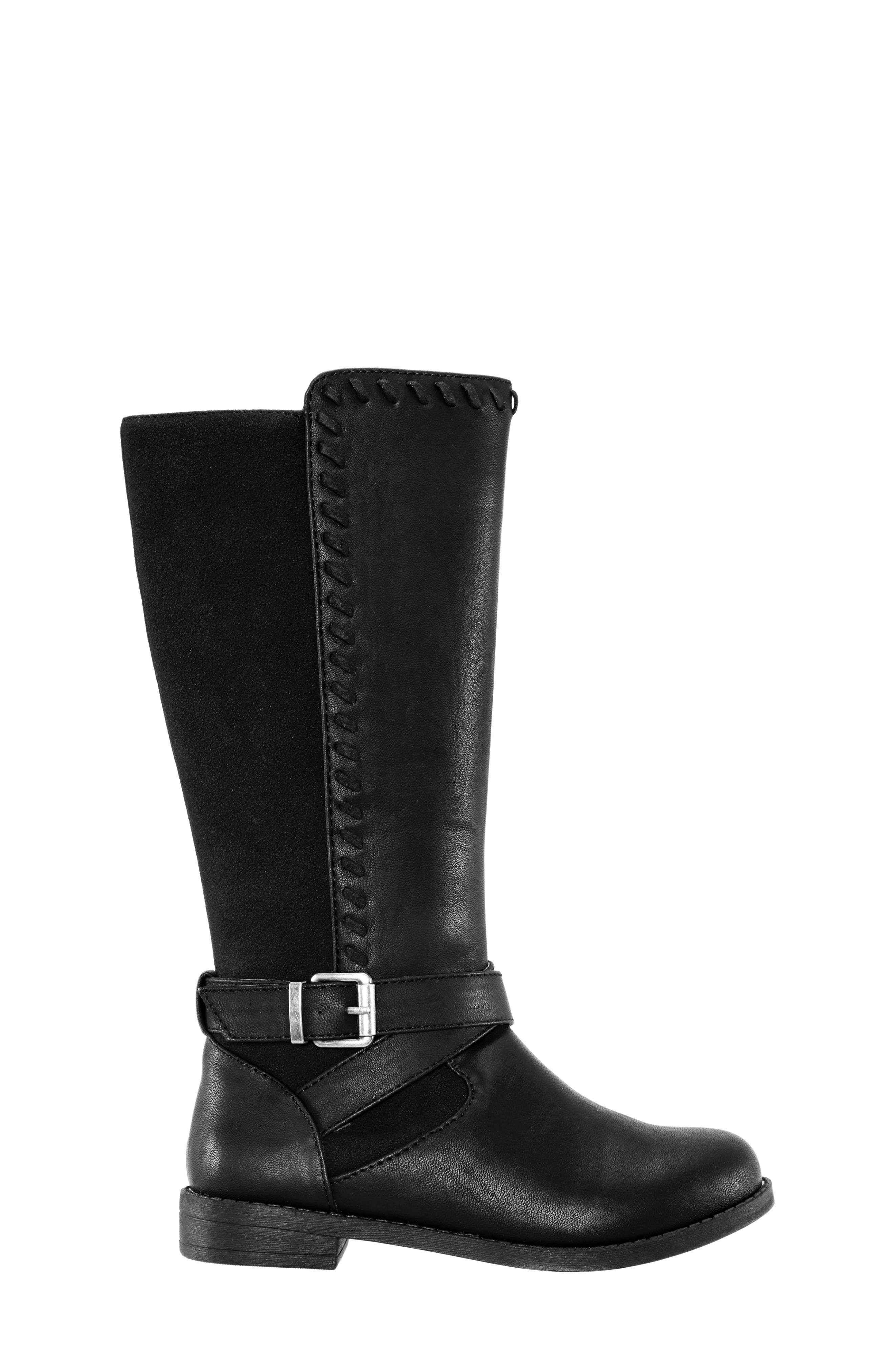Jeanie Riding Boot,                             Alternate thumbnail 3, color,                             003