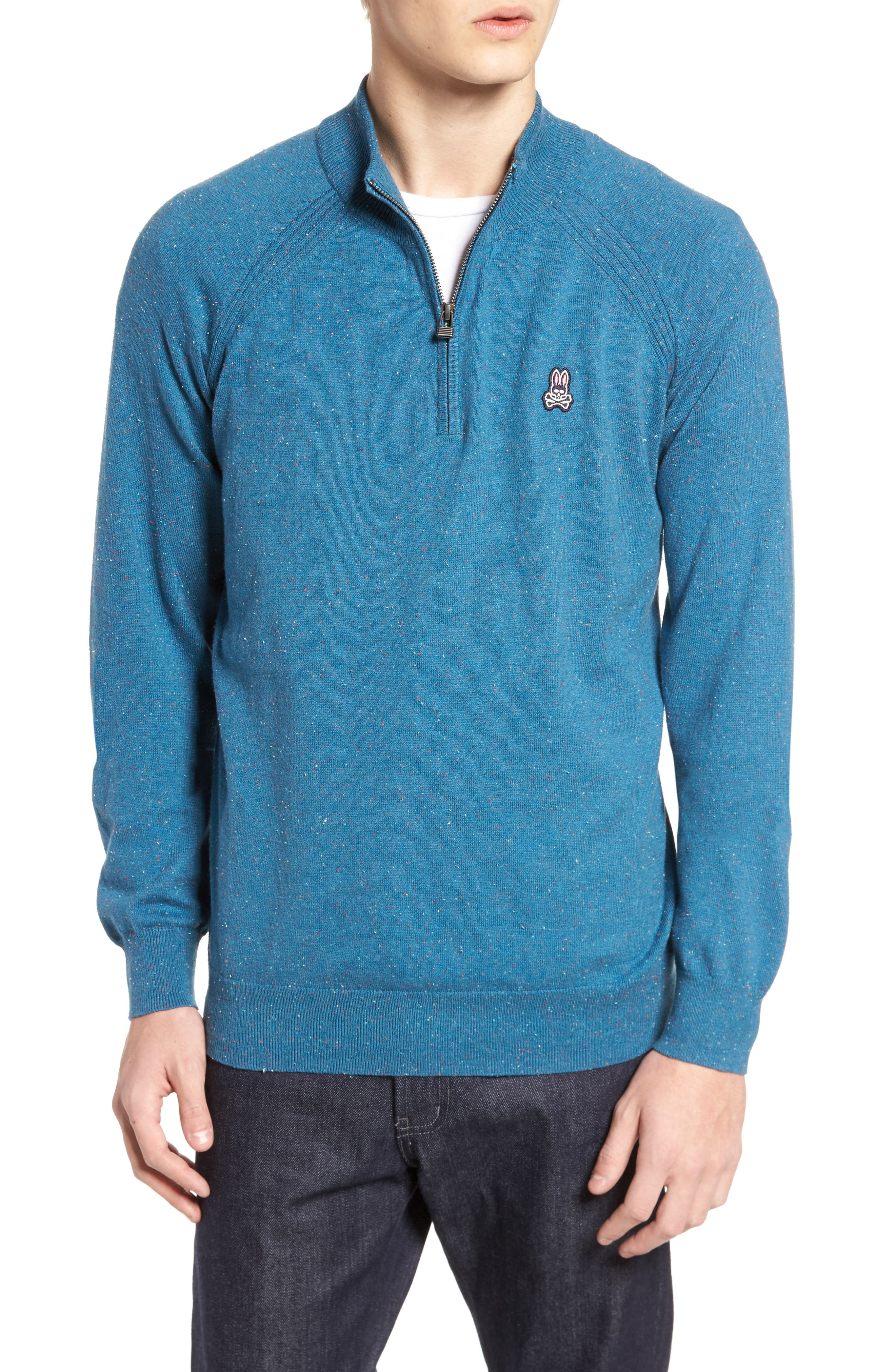 Donegal Quarter Zip Pullover,                         Main,                         color, 445