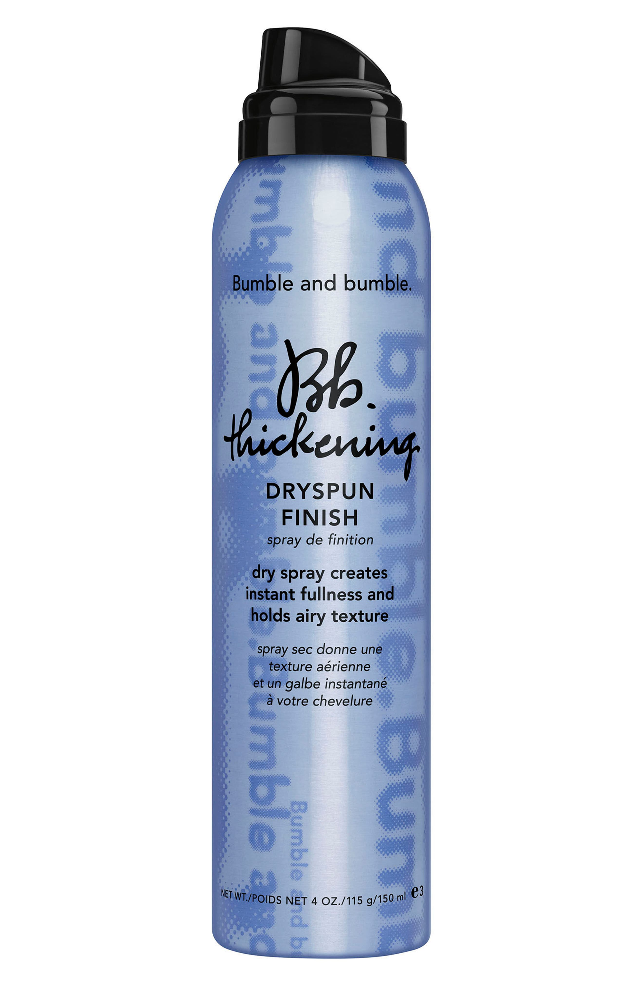 Thickening Dryspun Finish Dry Spray,                             Main thumbnail 1, color,                             NO COLOR