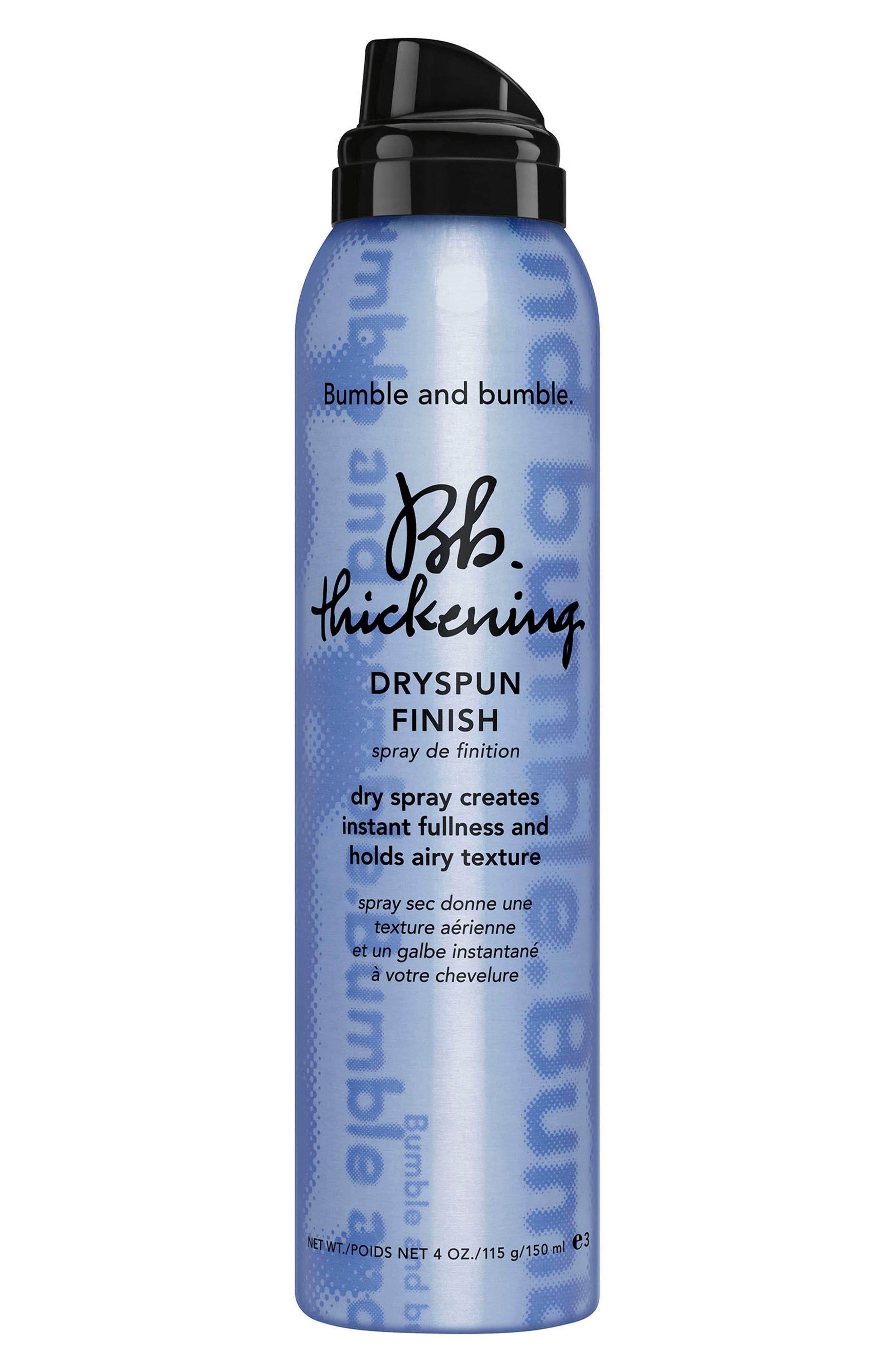 Thickening Dryspun Finish Dry Spray,                         Main,                         color, NO COLOR