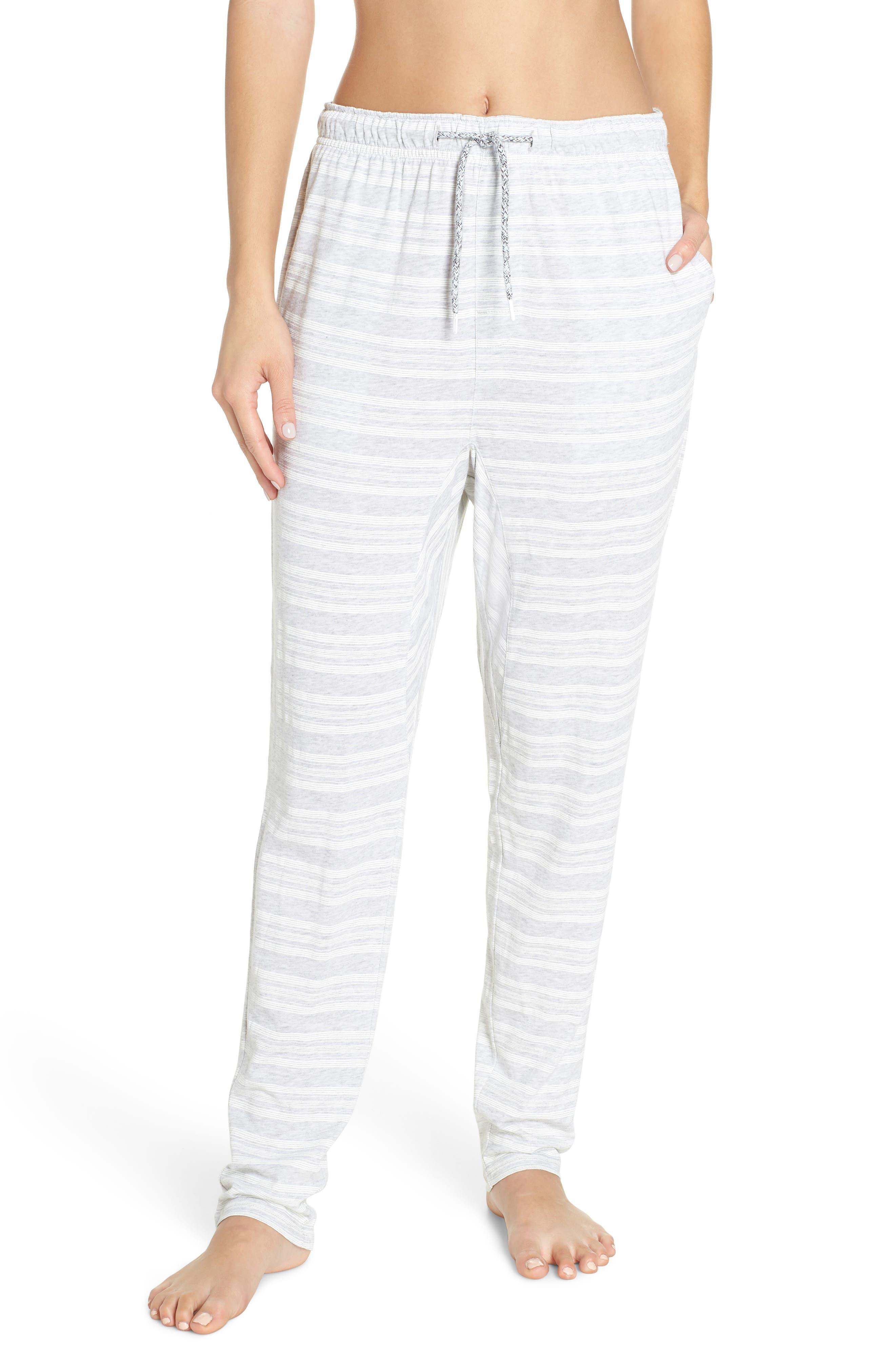 Alice Pajama Pants,                             Main thumbnail 1, color,                             LOLLY STRIPE WHITE