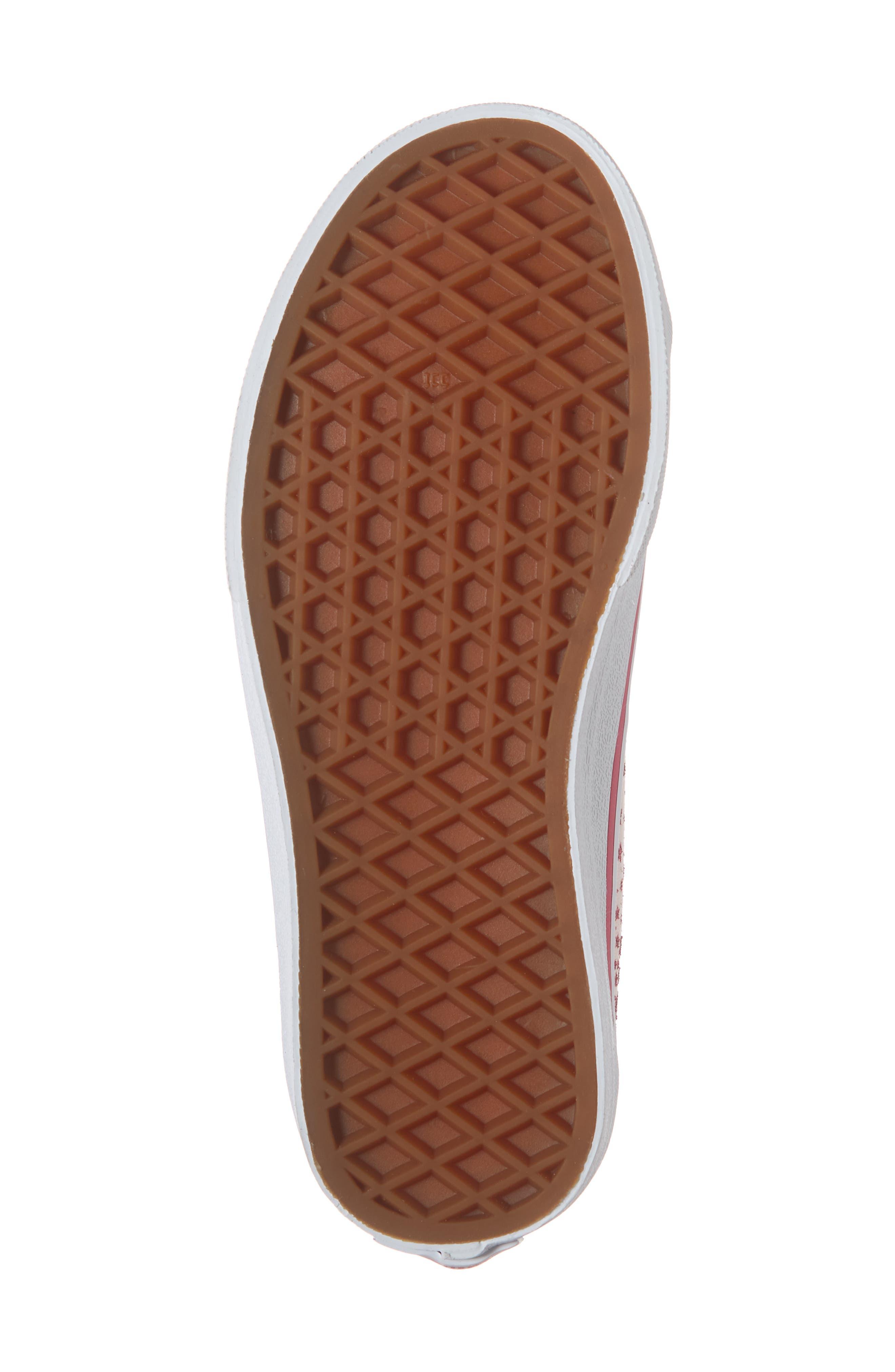 Style 23 V Glitter Sneaker,                             Alternate thumbnail 6, color,                             680