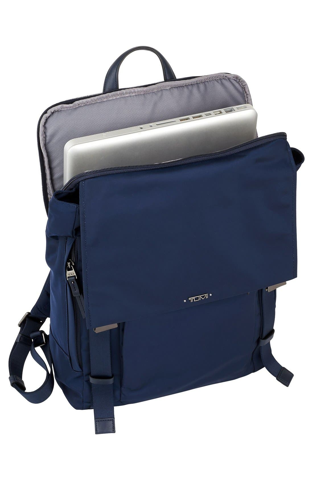 'Voyageur - Sacha' Flap Backpack,                             Alternate thumbnail 5, color,