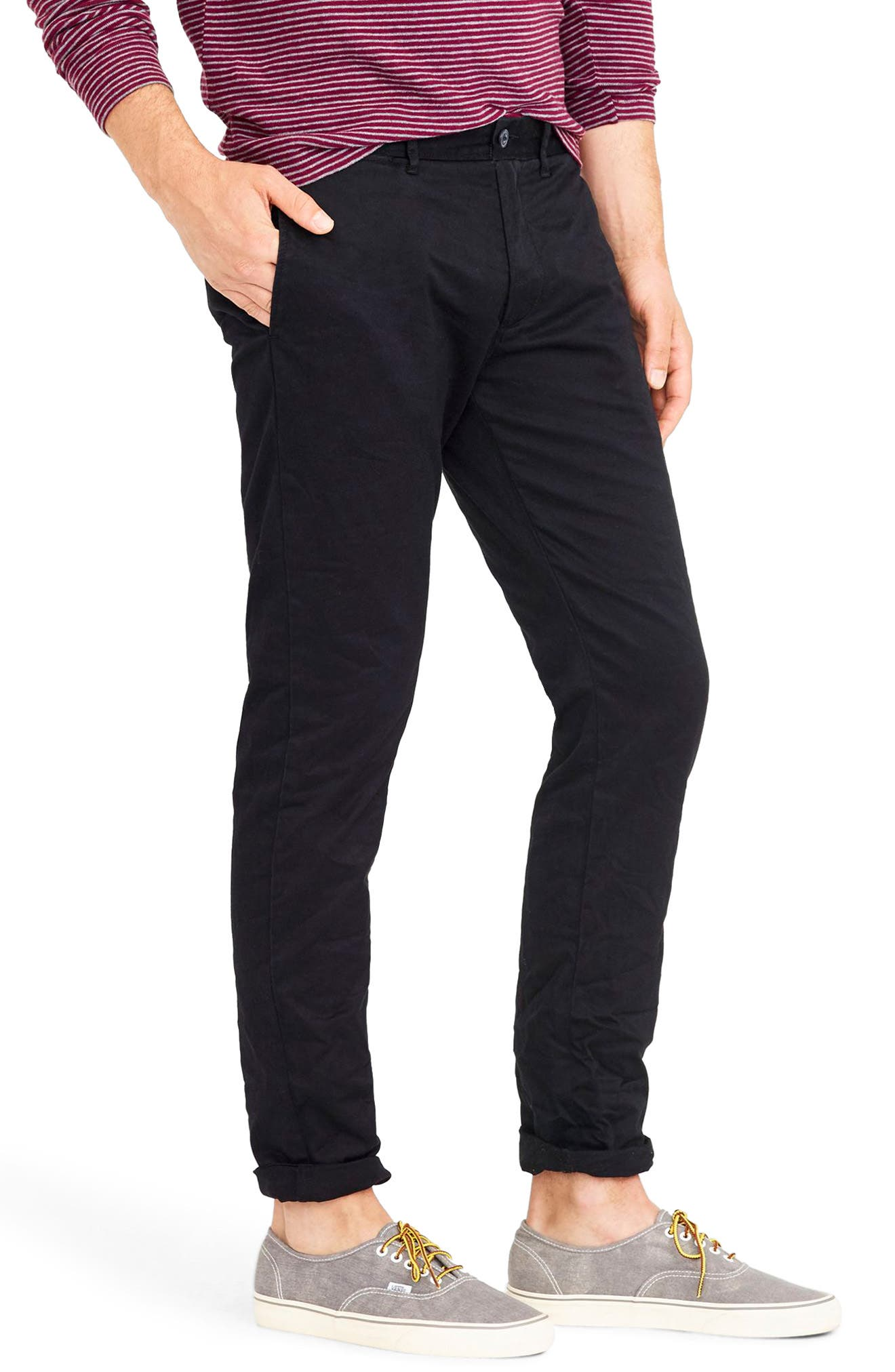 484 Slim Fit Stretch Chino Pants,                             Alternate thumbnail 24, color,