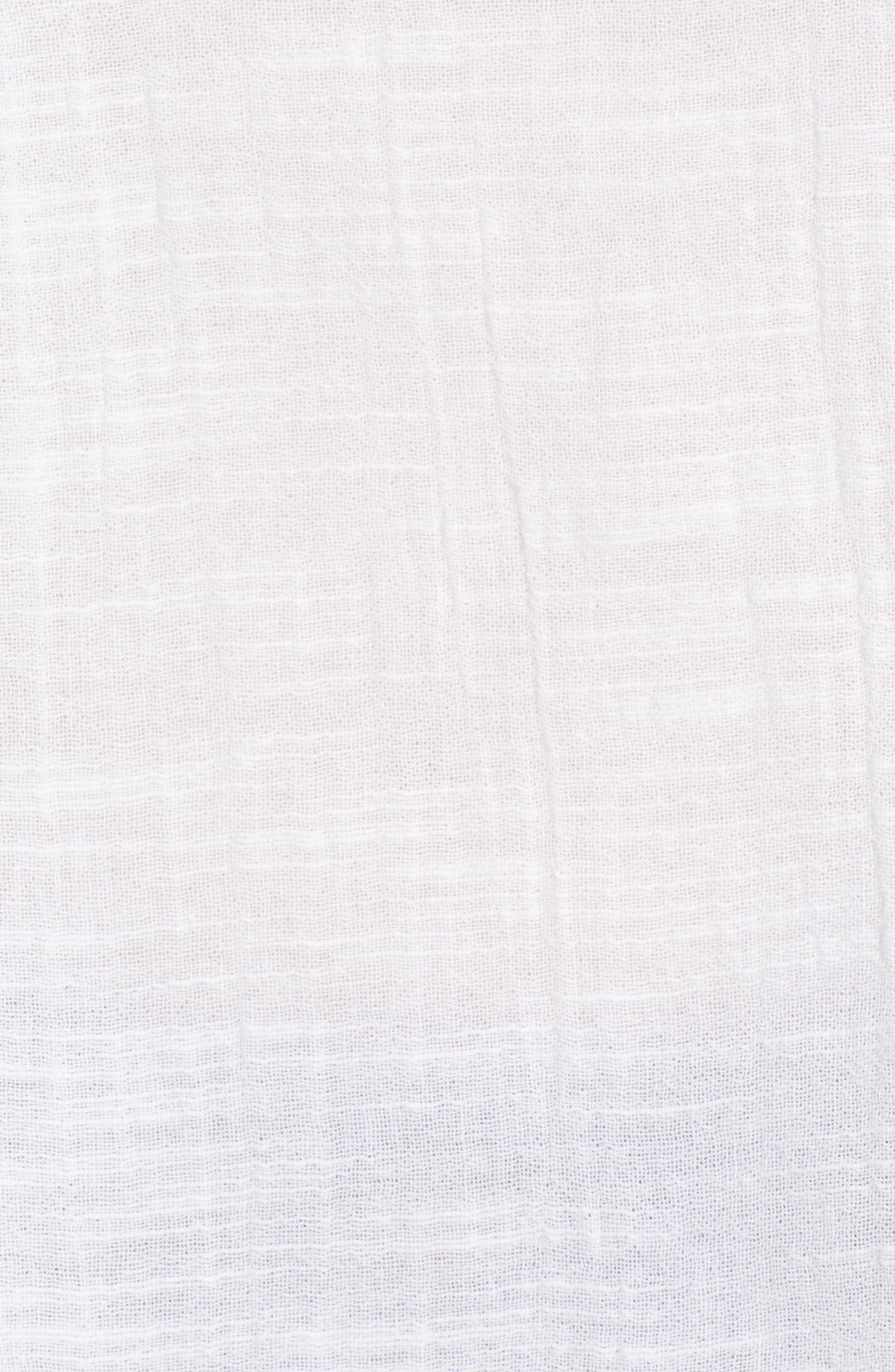 Pintuck Peasant Top,                             Alternate thumbnail 6, color,                             110
