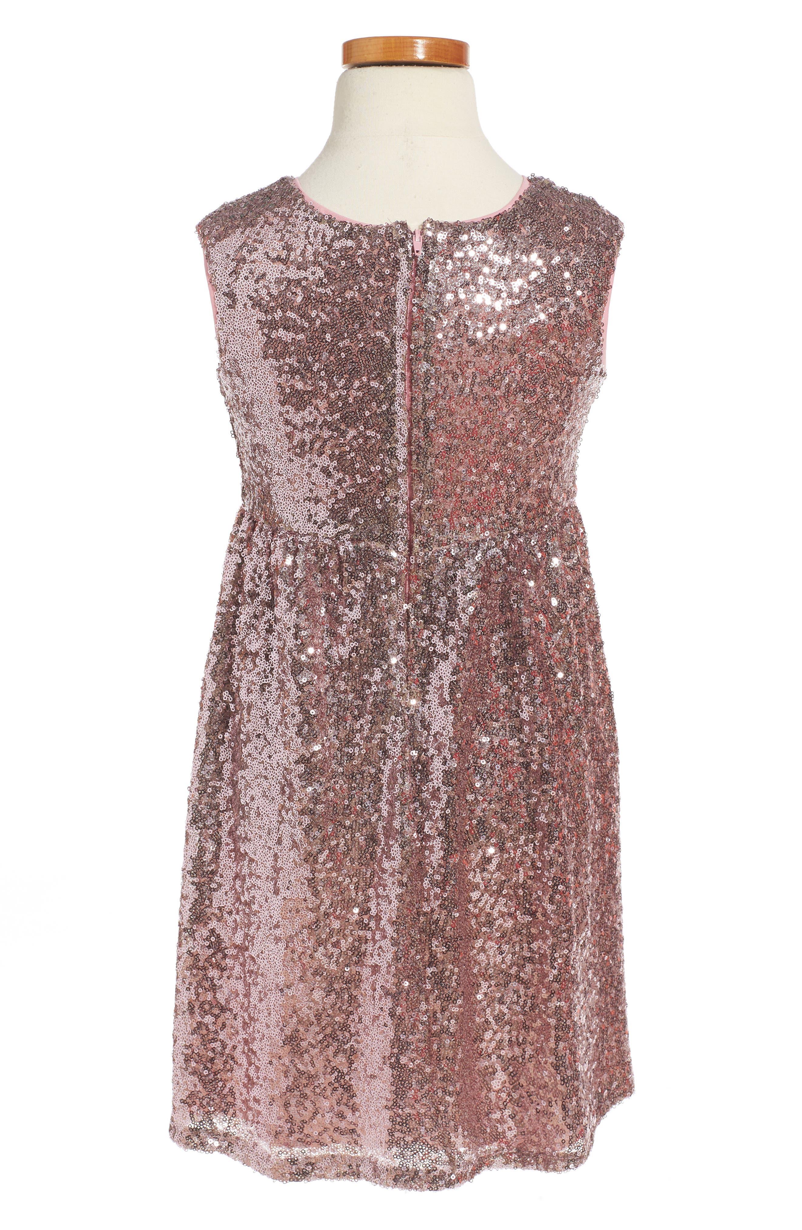 Sequin Dress,                             Alternate thumbnail 2, color,                             500