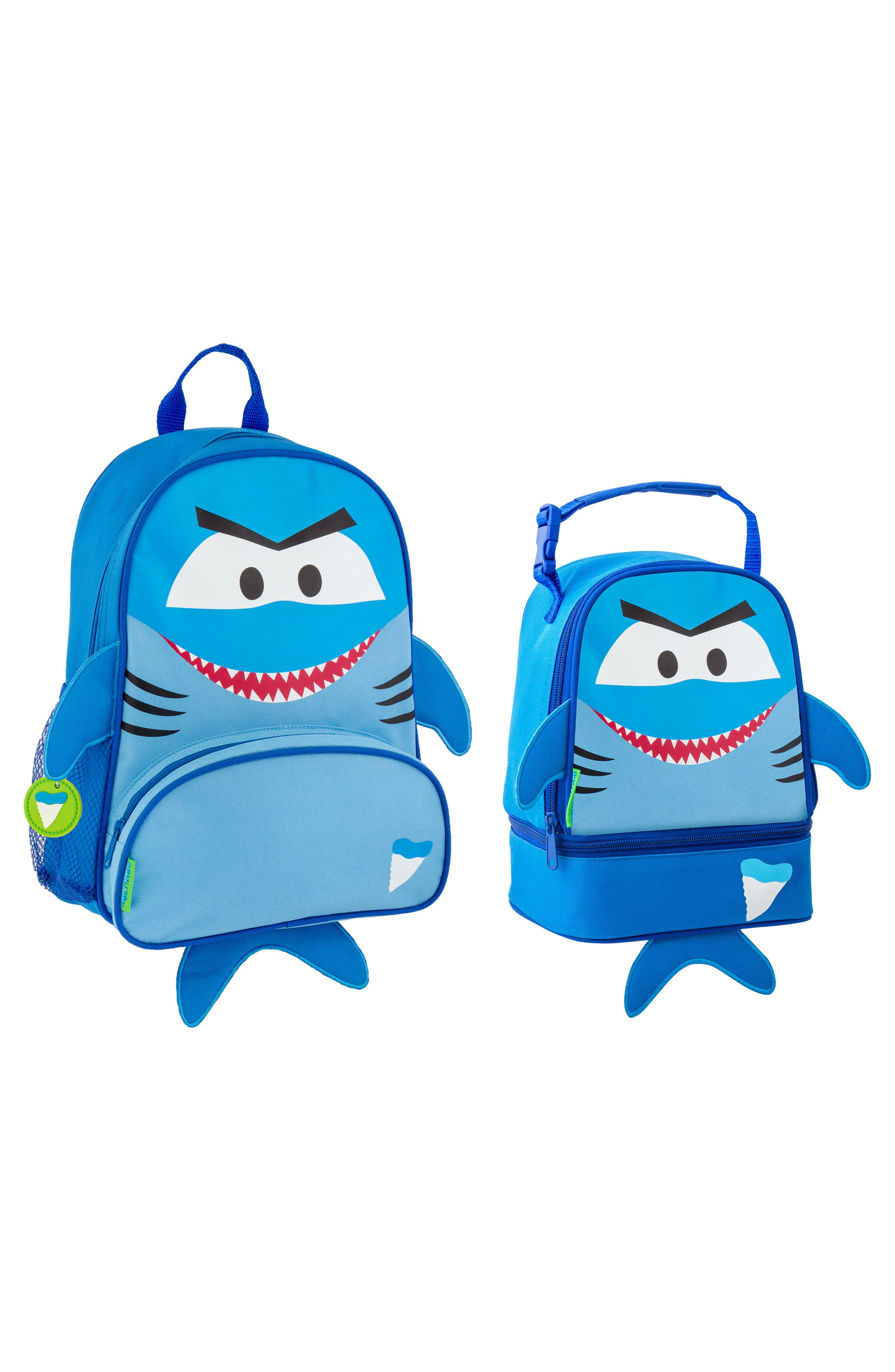 Shark Sidekick Backpack & Lunch Pal, Main, color, SHARK