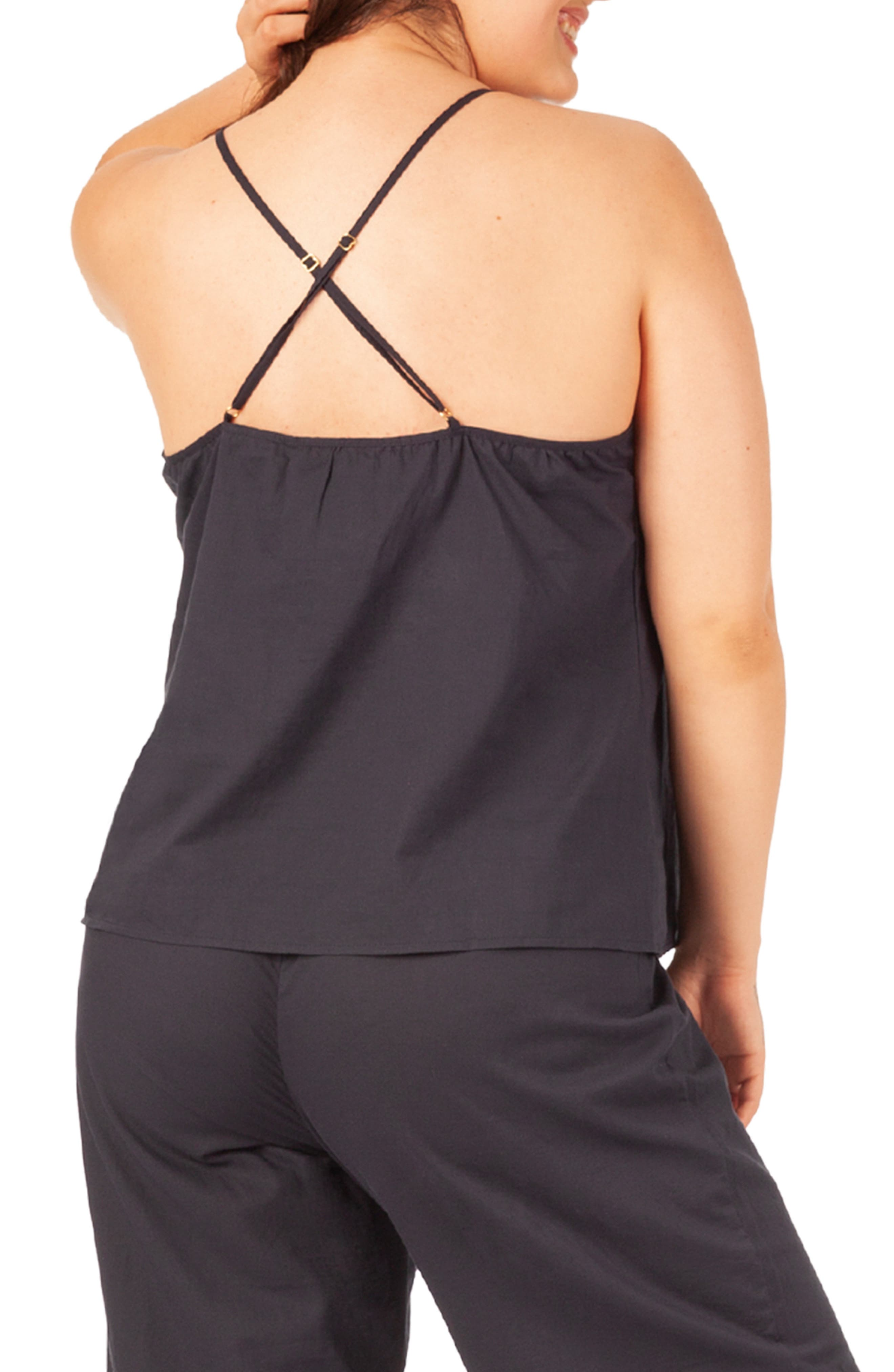 The Lounge Cami,                             Alternate thumbnail 2, color,                             NAVY