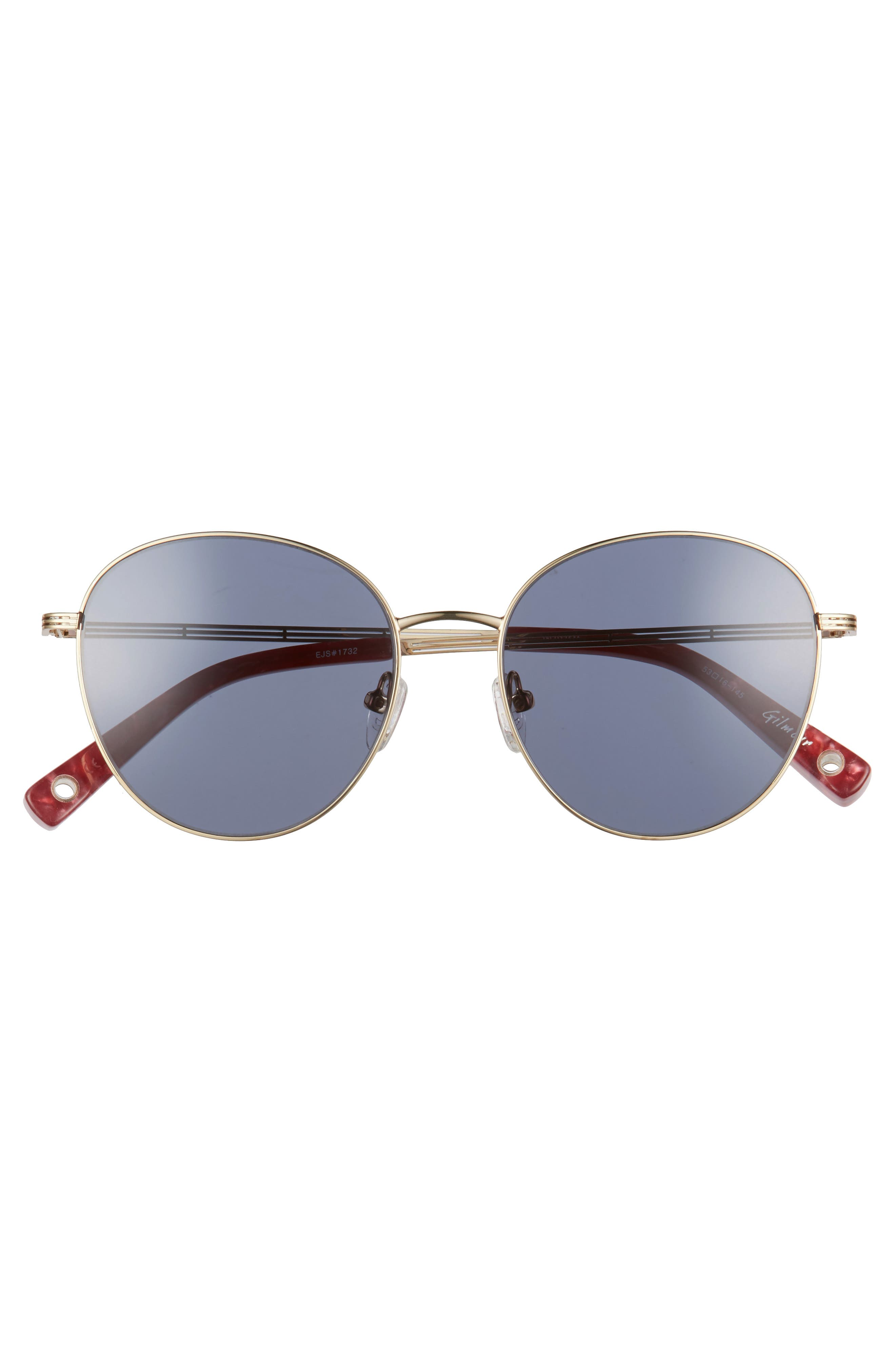 Gilmour 53mm Round Sunglasses & Beaded Chain,                             Alternate thumbnail 8, color,