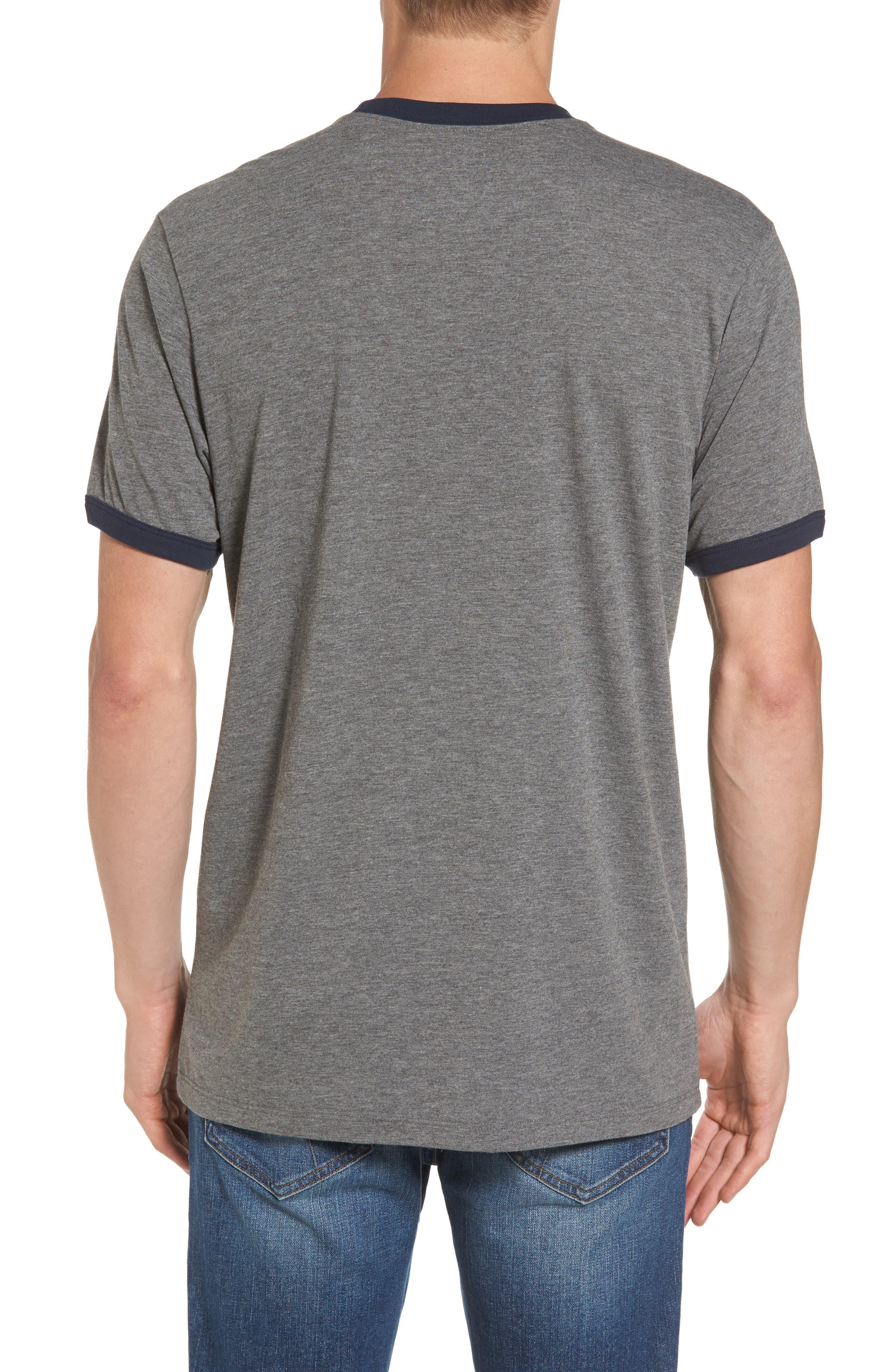 Seattle Seahawks Ringer T-Shirt,                             Alternate thumbnail 2, color,                             020