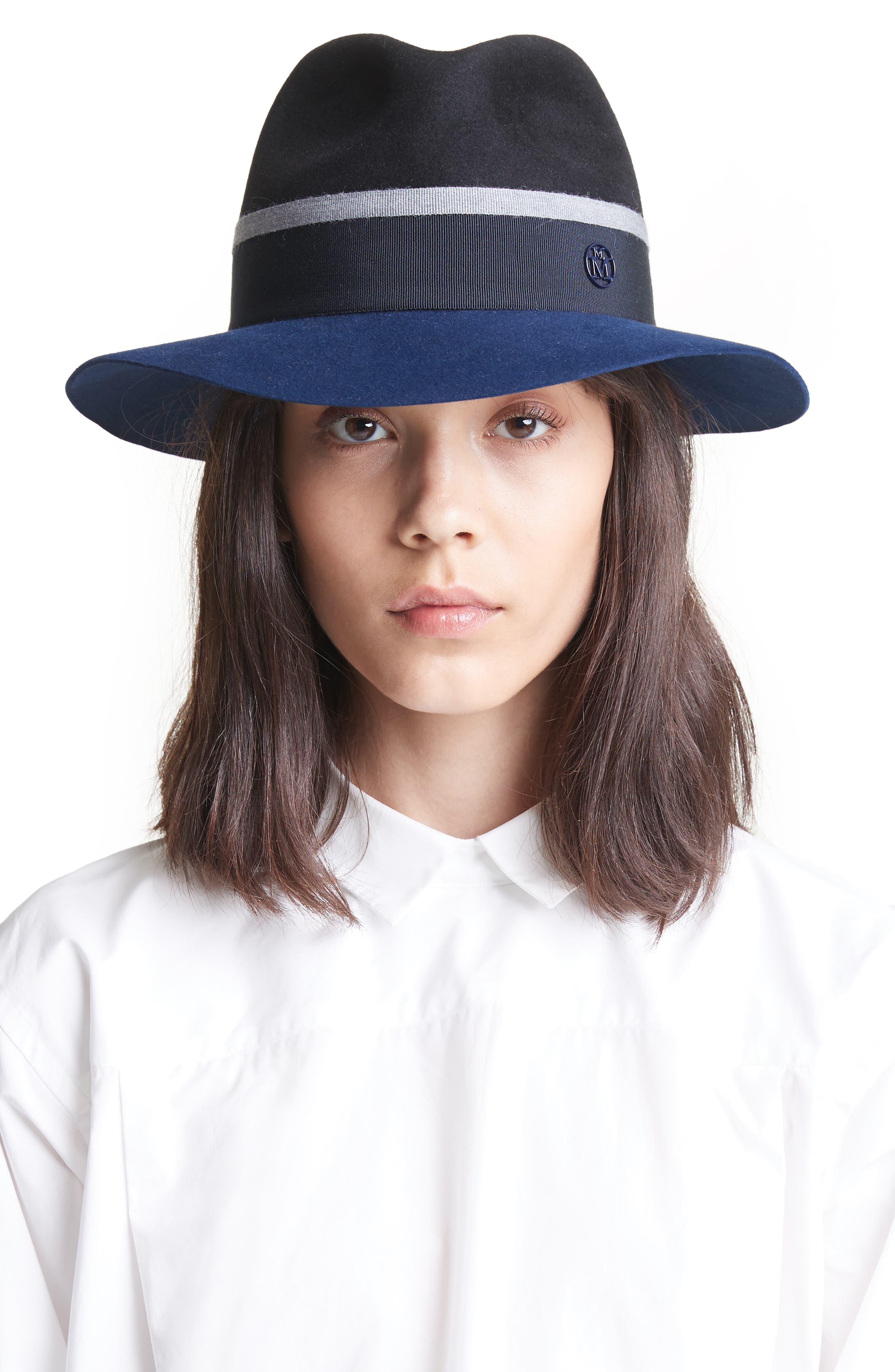 Rico Fur Felt Hat,                             Alternate thumbnail 2, color,                             001