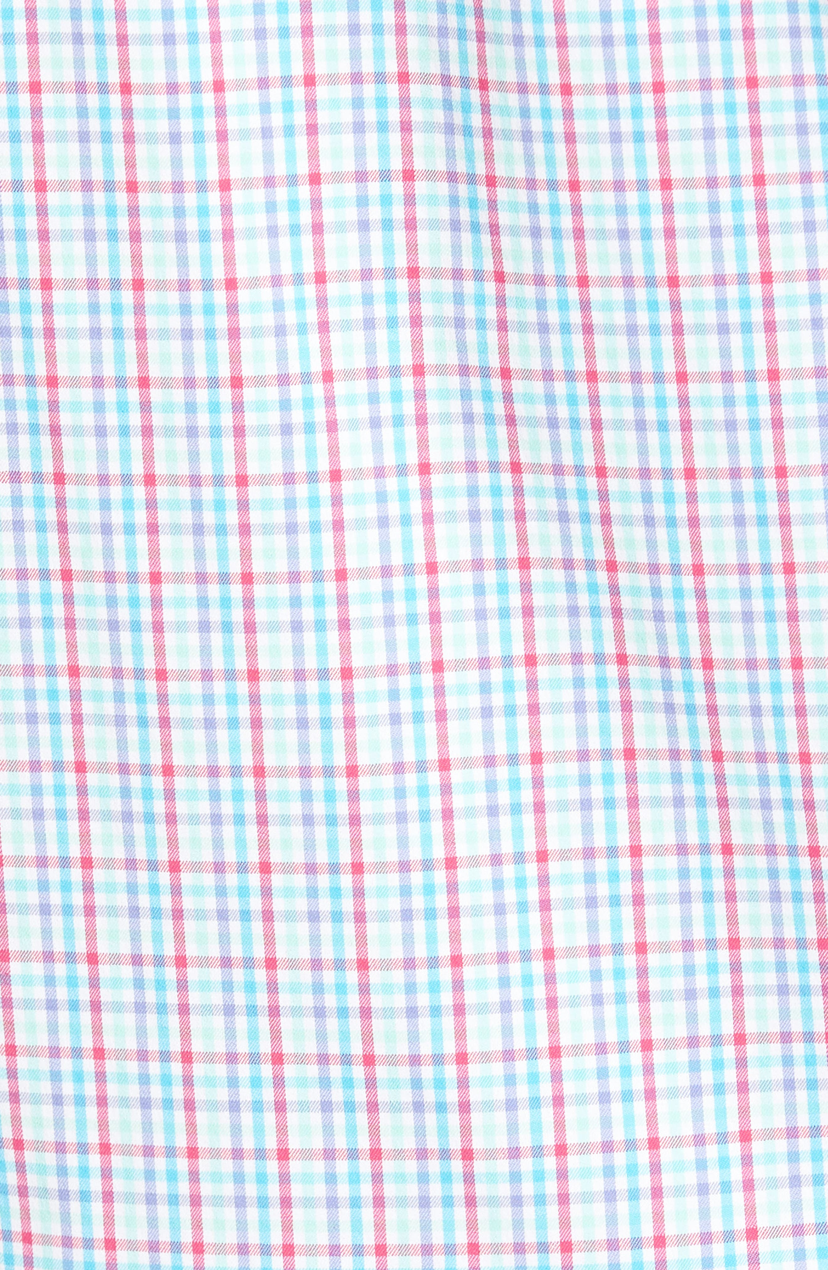 PETER MILLAR,                             Smedes Regular Fit Check Performance Sport Shirt,                             Alternate thumbnail 5, color,                             100