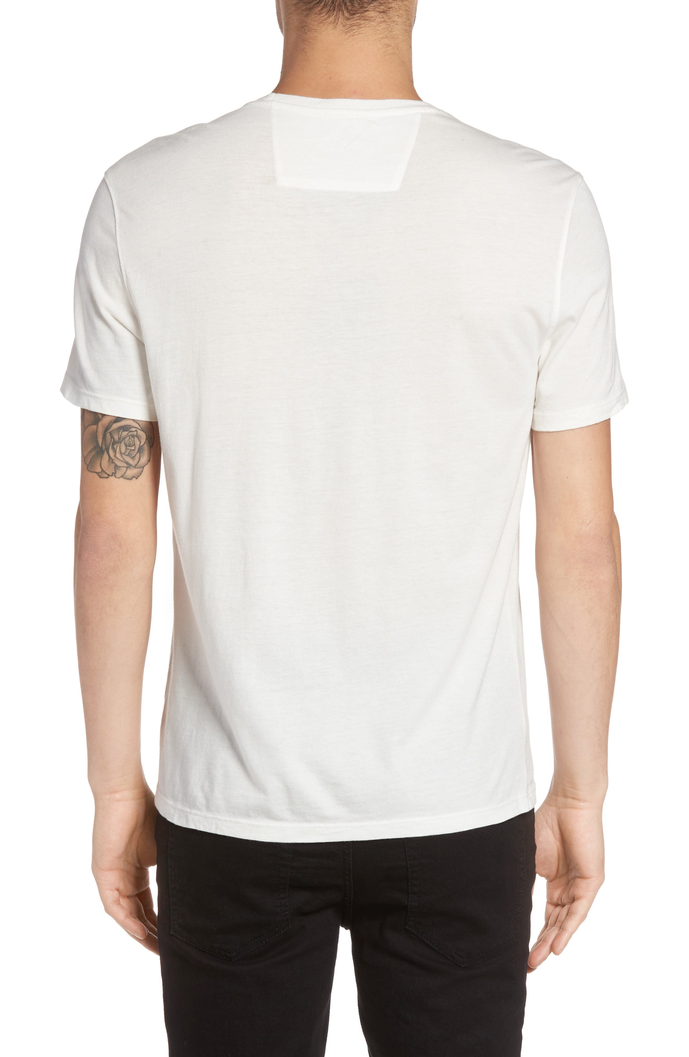 The Beatles Graphic Logo T-Shirt,                             Alternate thumbnail 3, color,                             103