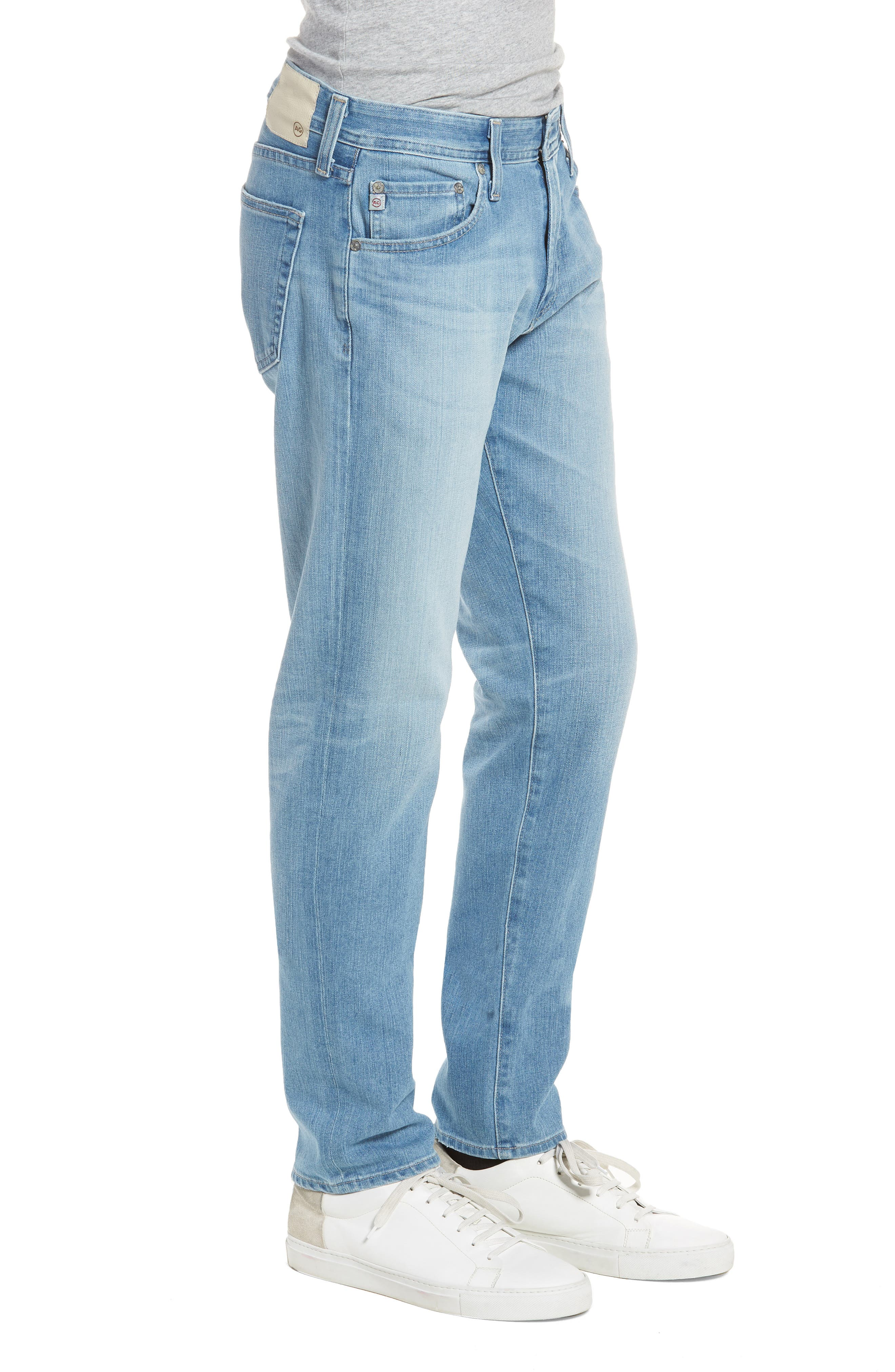 AG,                             Tellis Slim Fit Jeans,                             Alternate thumbnail 3, color,                             498
