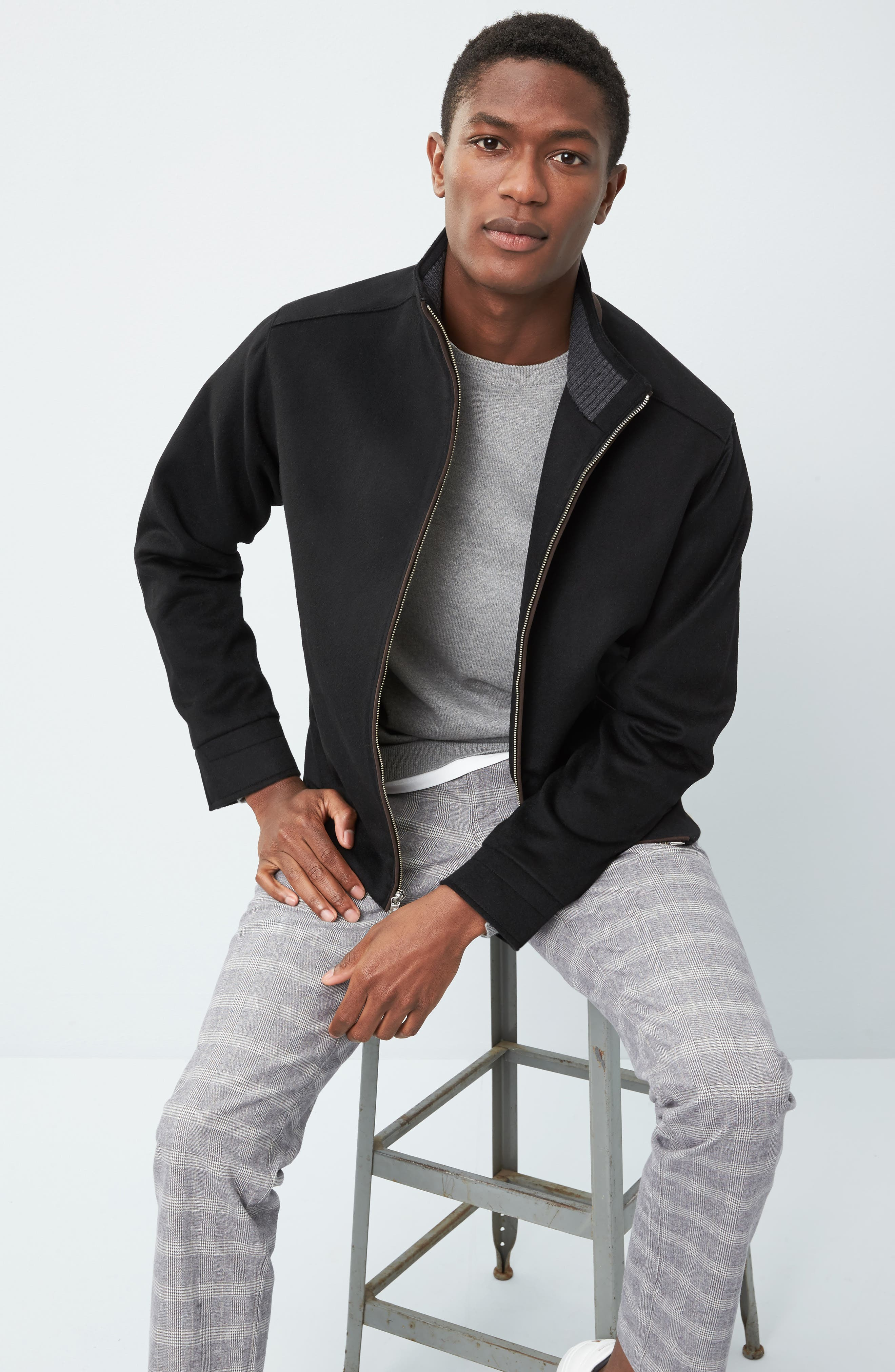 Westport Wool & Cashmere Jacket,                             Alternate thumbnail 19, color,