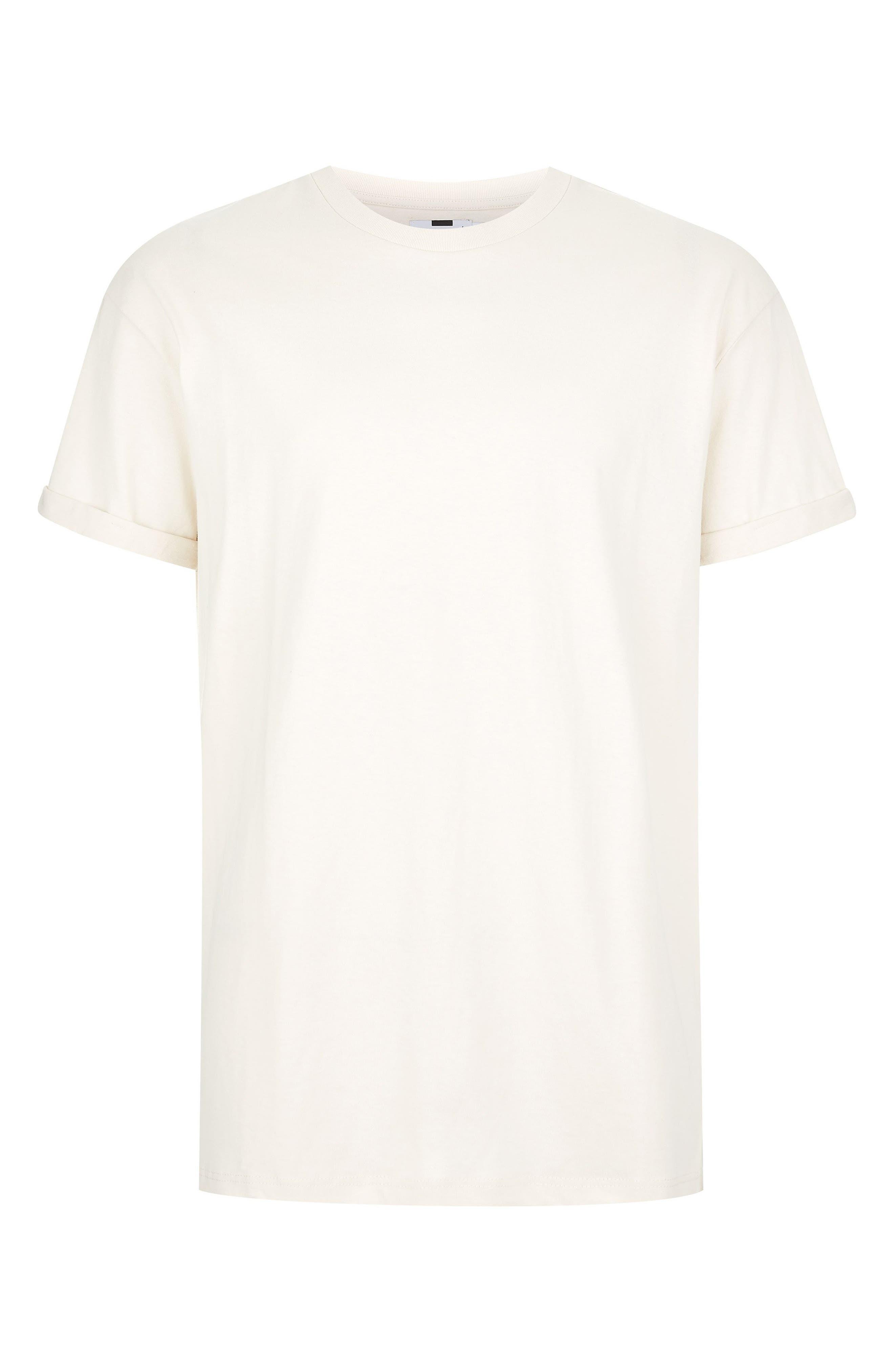Oversize Fit Roller T-Shirt,                             Alternate thumbnail 4, color,                             STONE