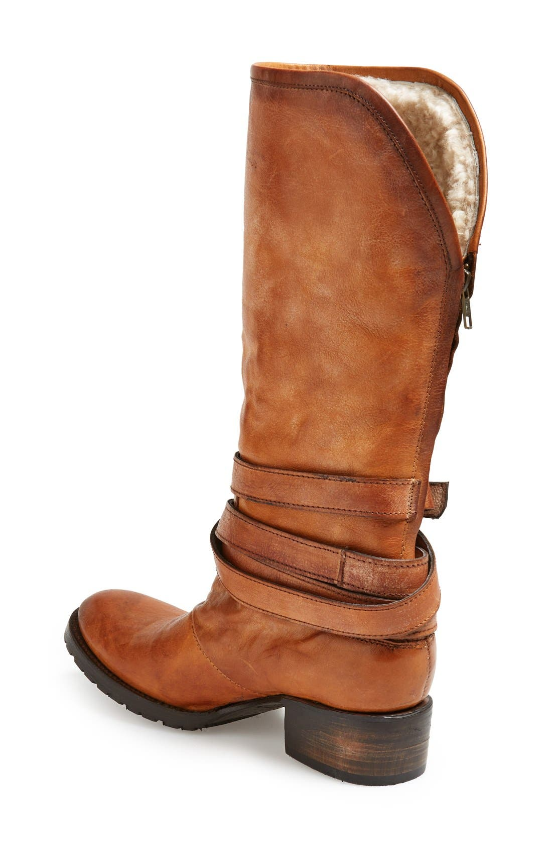 FREEBIRD BY STEVEN,                             'Dillon' Leather Tall Boot,                             Alternate thumbnail 2, color,                             200
