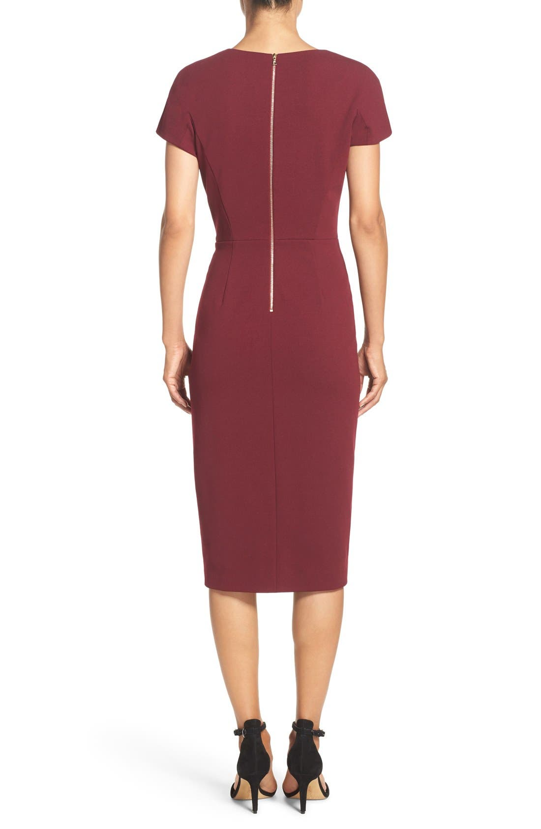 Asymmetrical Sheath Dress,                             Alternate thumbnail 10, color,