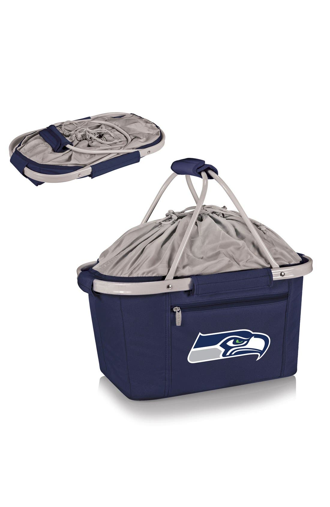 PICNIC TIME,                             Metro NFL Collapsible Insulated Basket,                             Alternate thumbnail 2, color,                             409