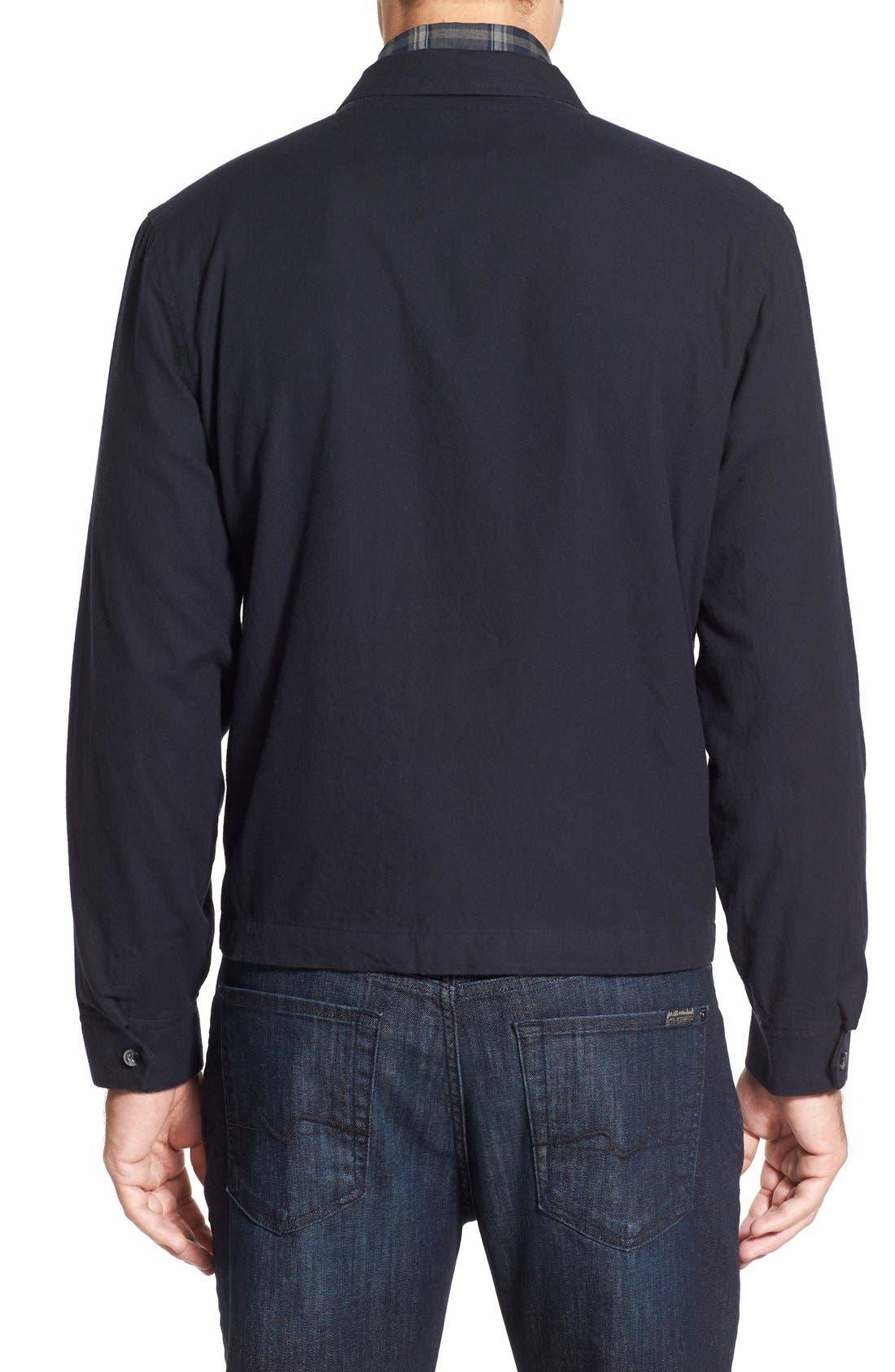 'Sedona' Zip Front Canvas Jacket,                             Alternate thumbnail 9, color,