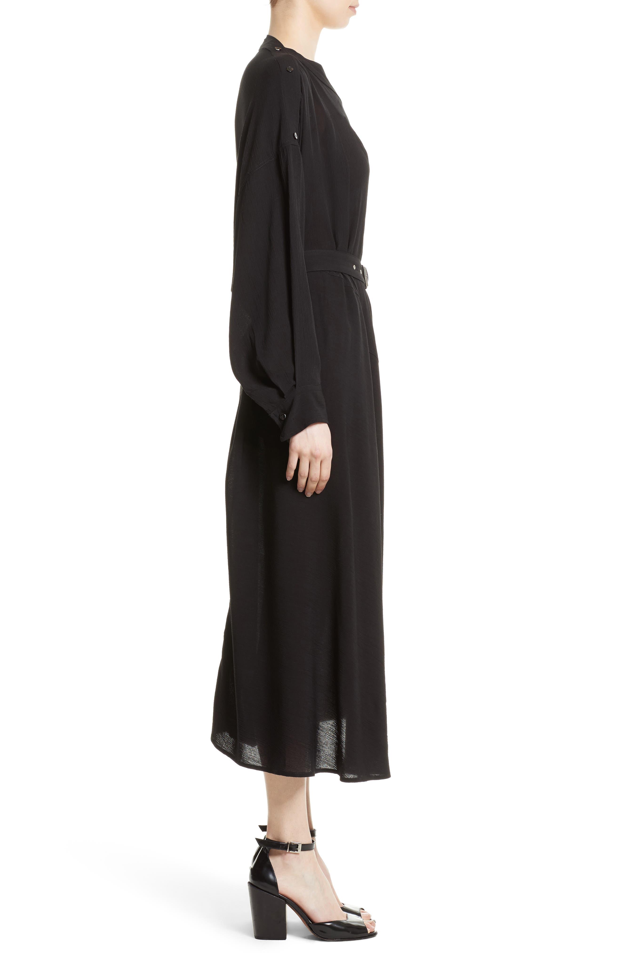 Welcome Midi Dress,                             Alternate thumbnail 3, color,                             001