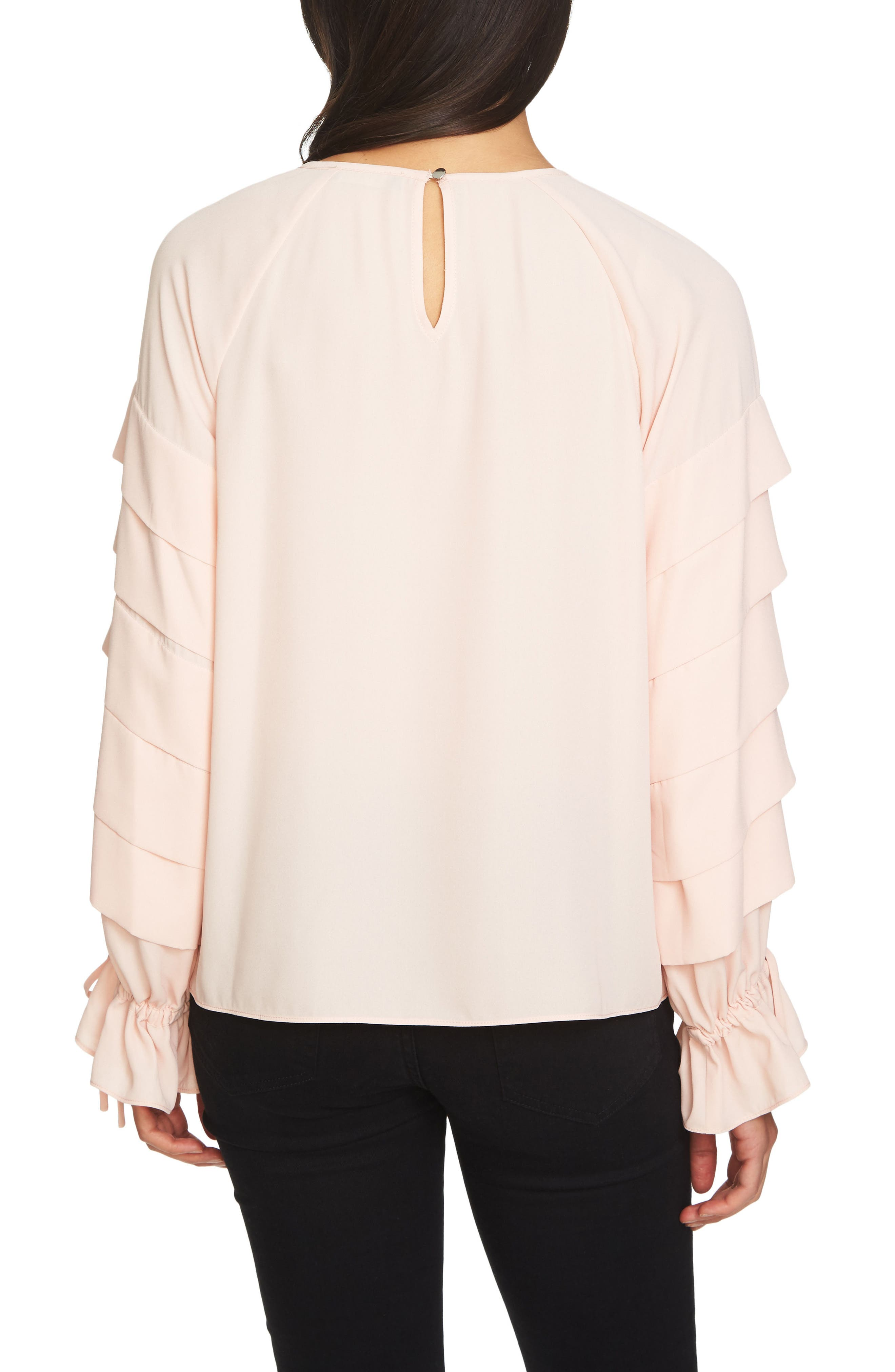 Tiered Sleeve Top,                             Alternate thumbnail 6, color,