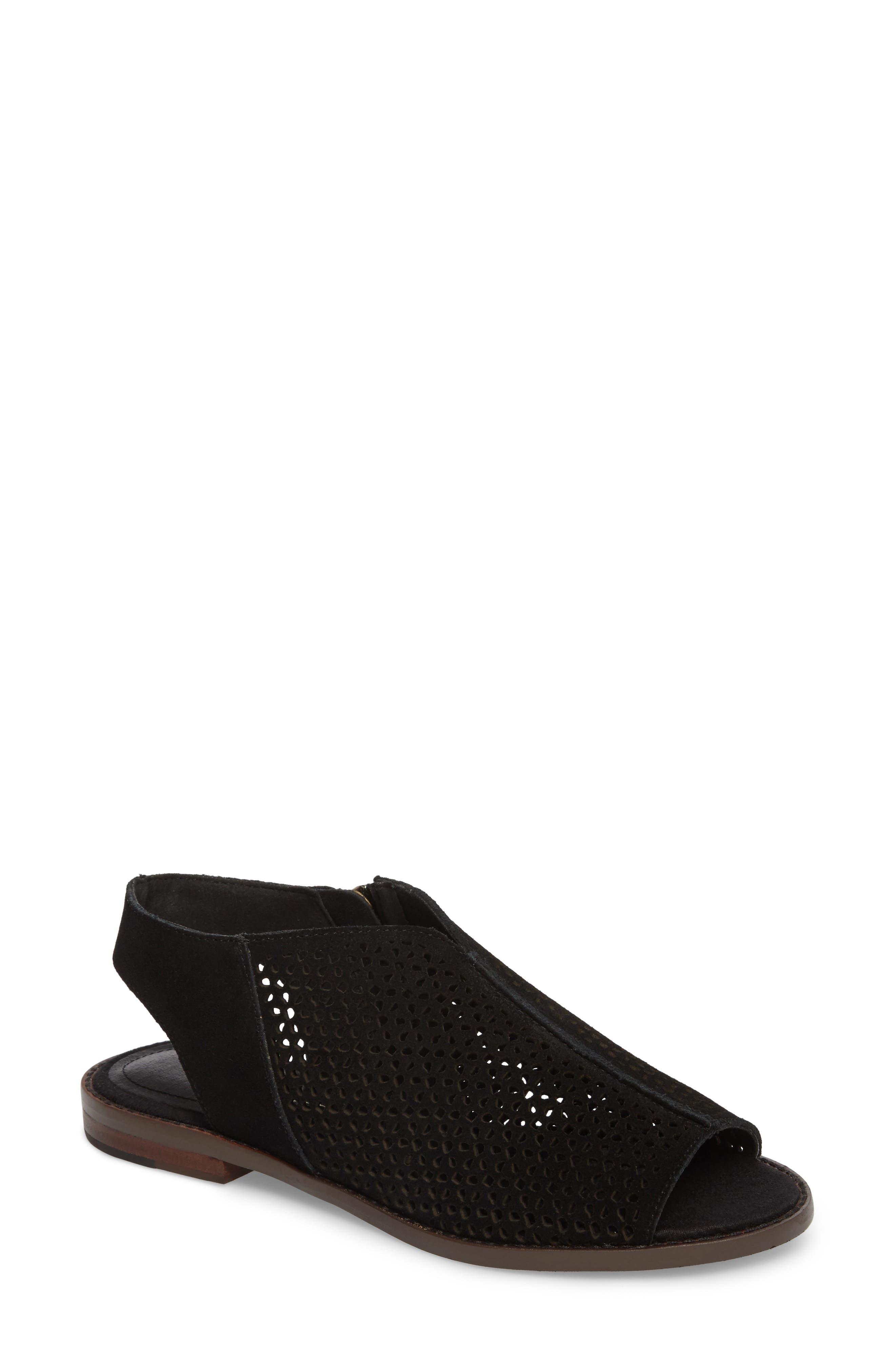Seneca Perforated Sandal,                         Main,                         color, 001