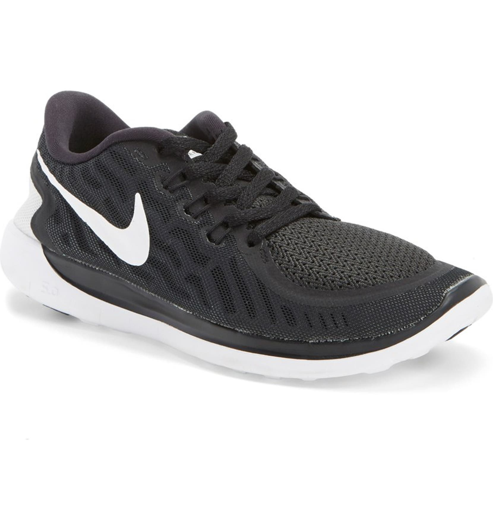 7b672667a937 Nike  Free 5.0  Running Shoe (Big Kid)