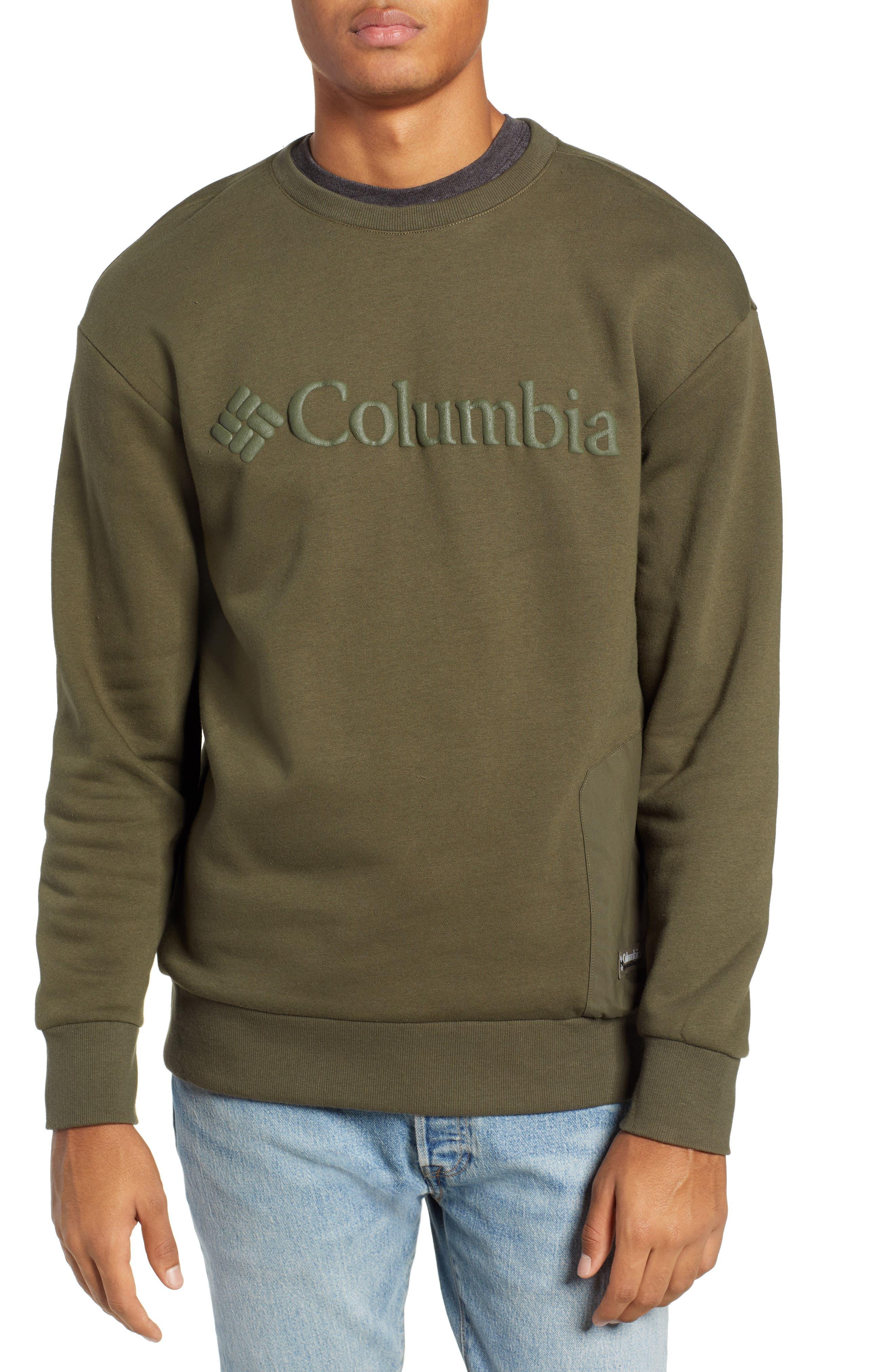 Bugasweat Crewneck Sweatshirt,                         Main,                         color, PEATMOSS