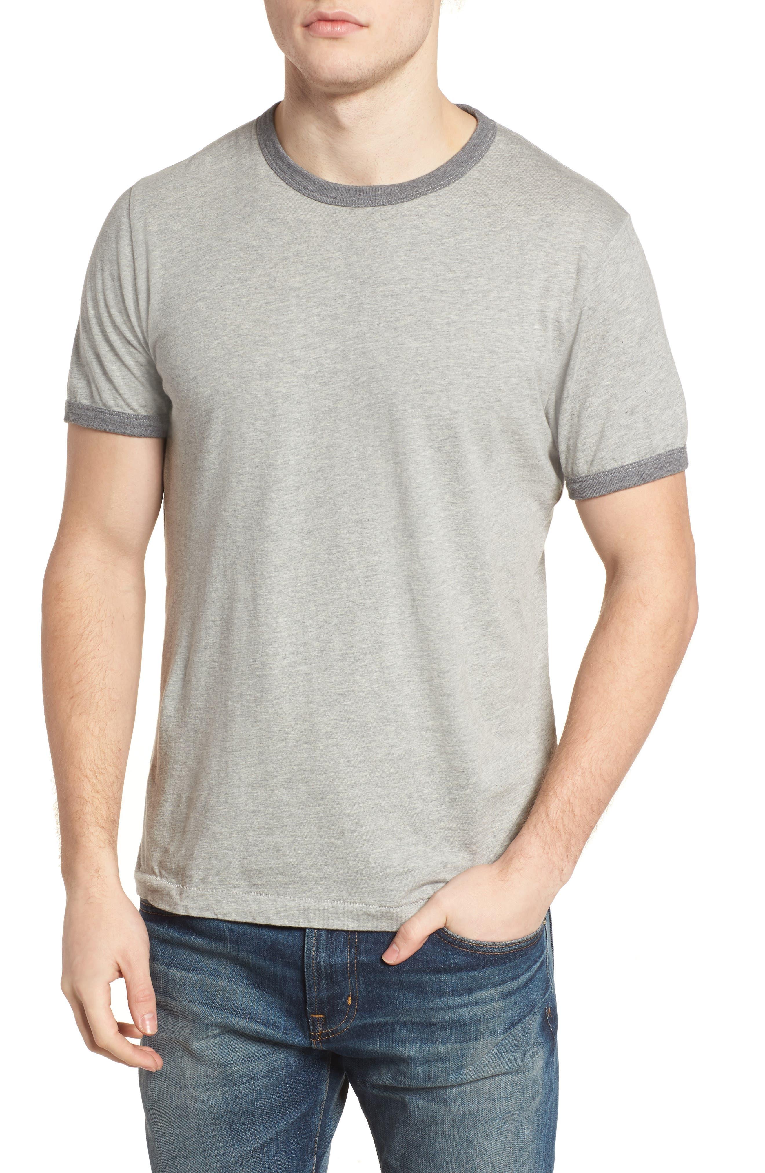 Bens Slim Fit Ringer T-Shirt,                             Main thumbnail 1, color,                             032