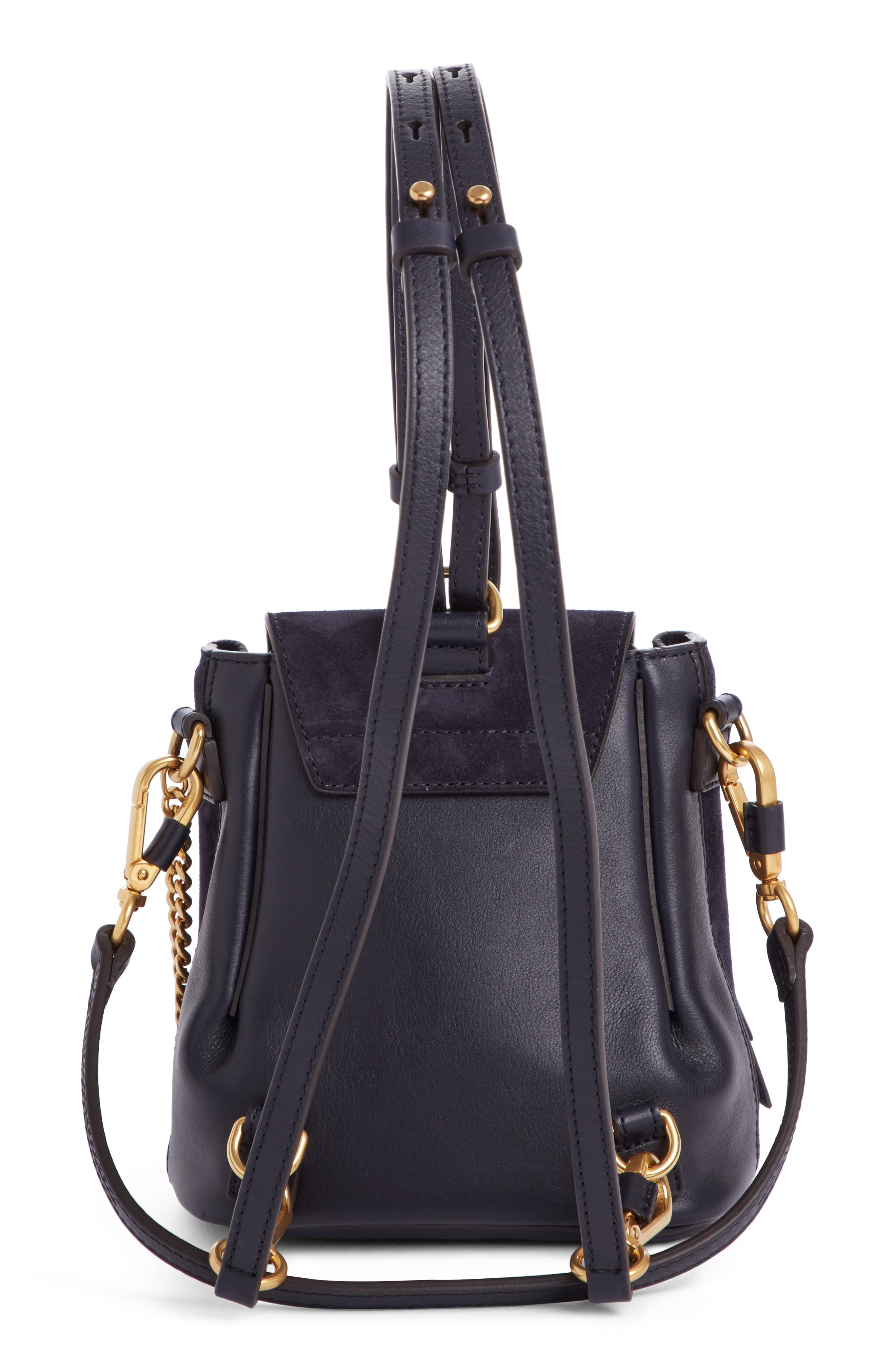 Mini Faye Studded Leather Backpack,                             Alternate thumbnail 2, color,                             412