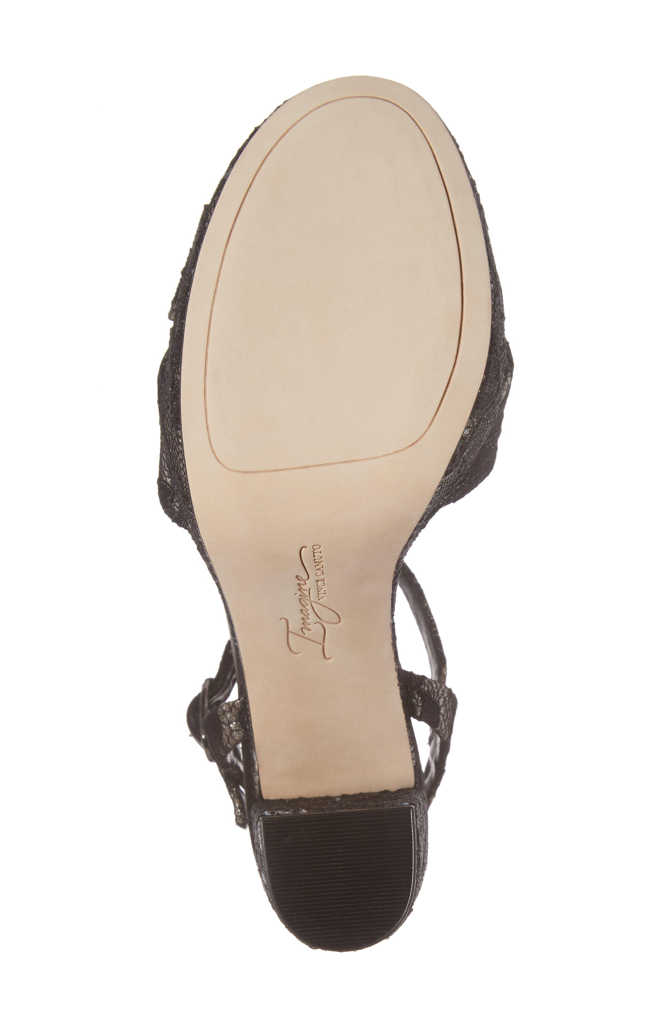 'Valora' Platform Sandal,                             Alternate thumbnail 6, color,                             002