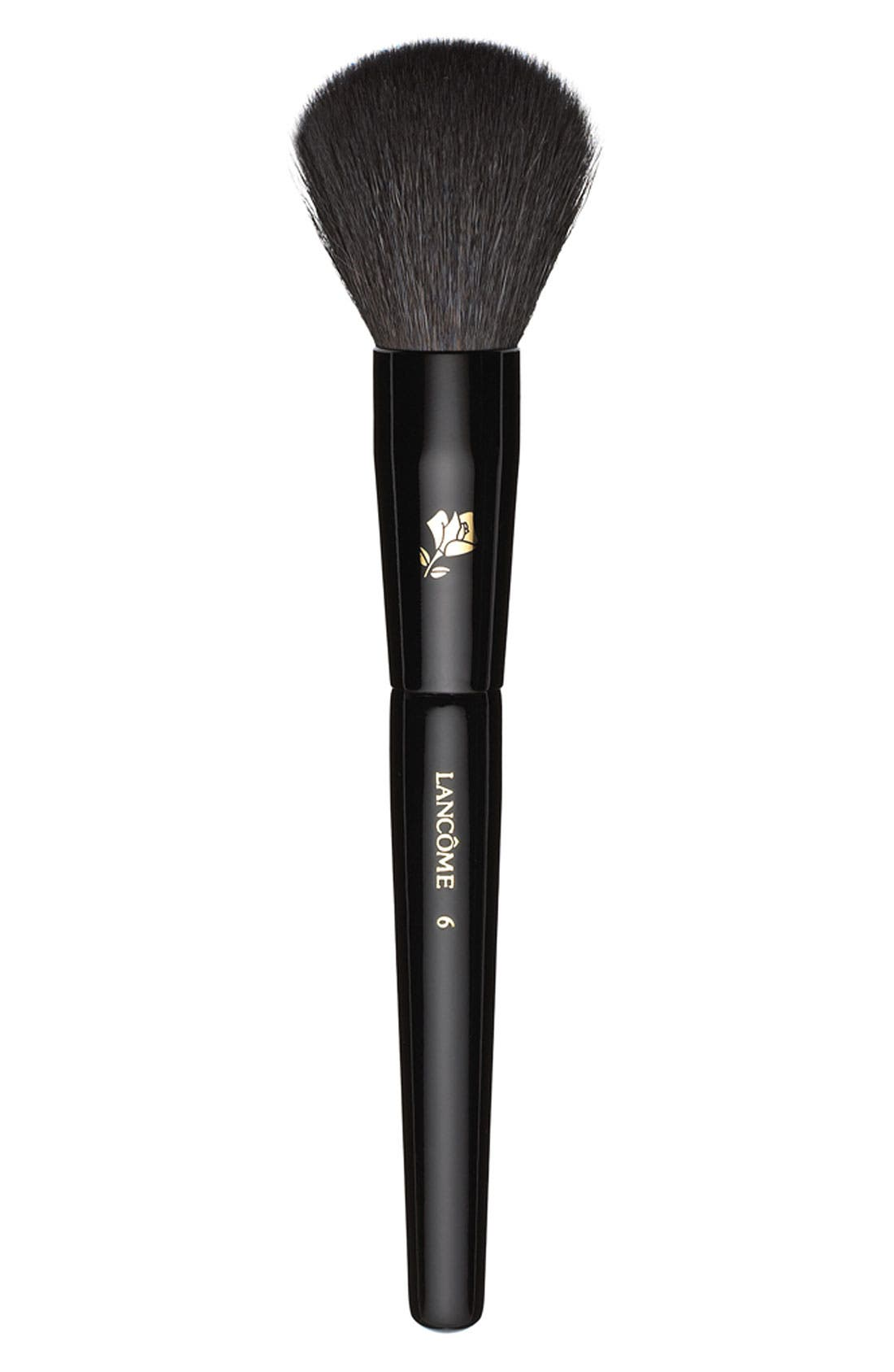 Natural Bristled Blush Brush,                             Main thumbnail 1, color,                             000