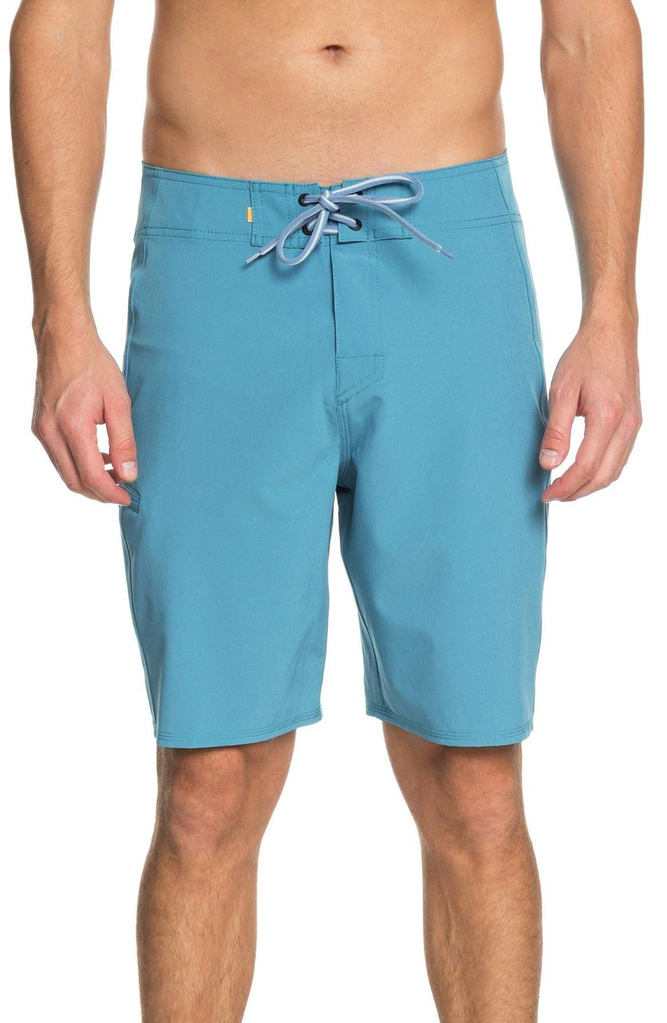 Quiksilver Waterman Collection Makana Boardshorts, Blue