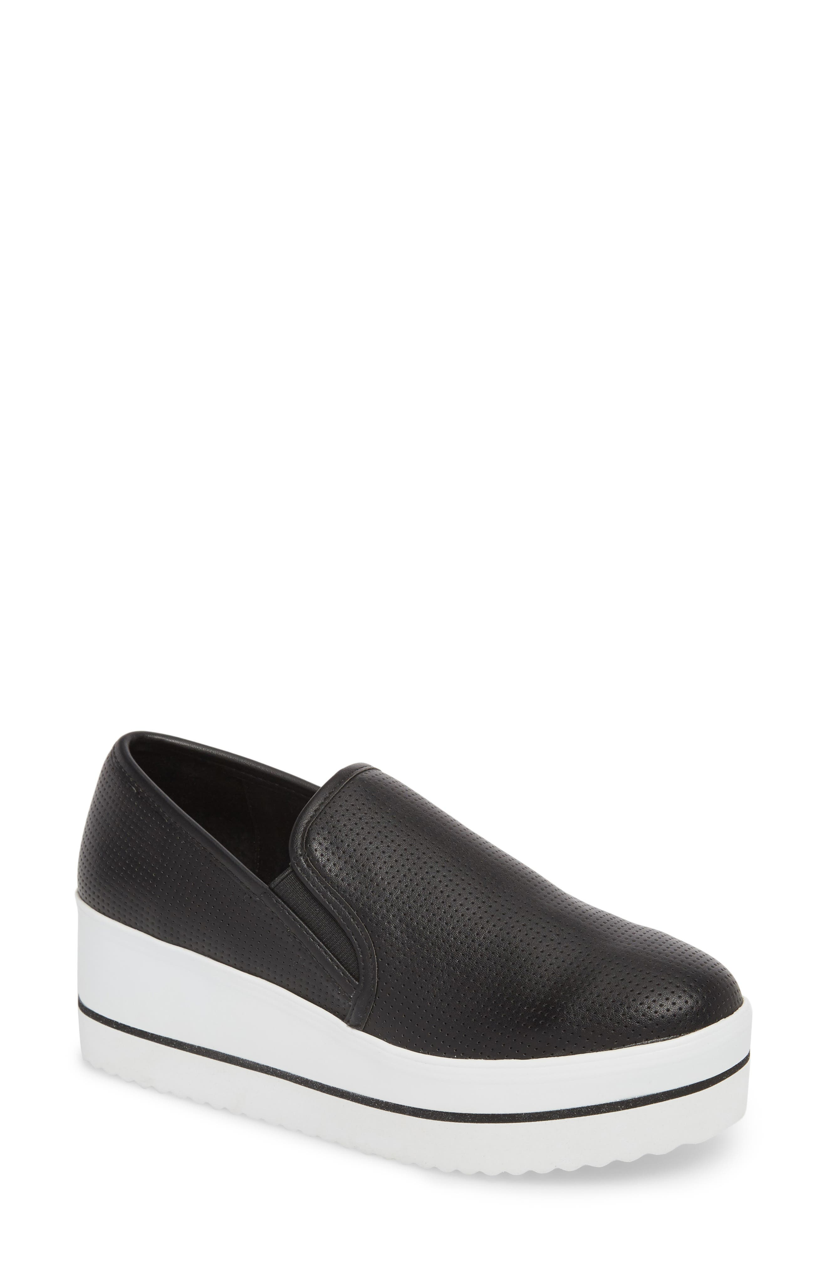 Becca Slip-On Sneaker,                             Main thumbnail 1, color,                             001